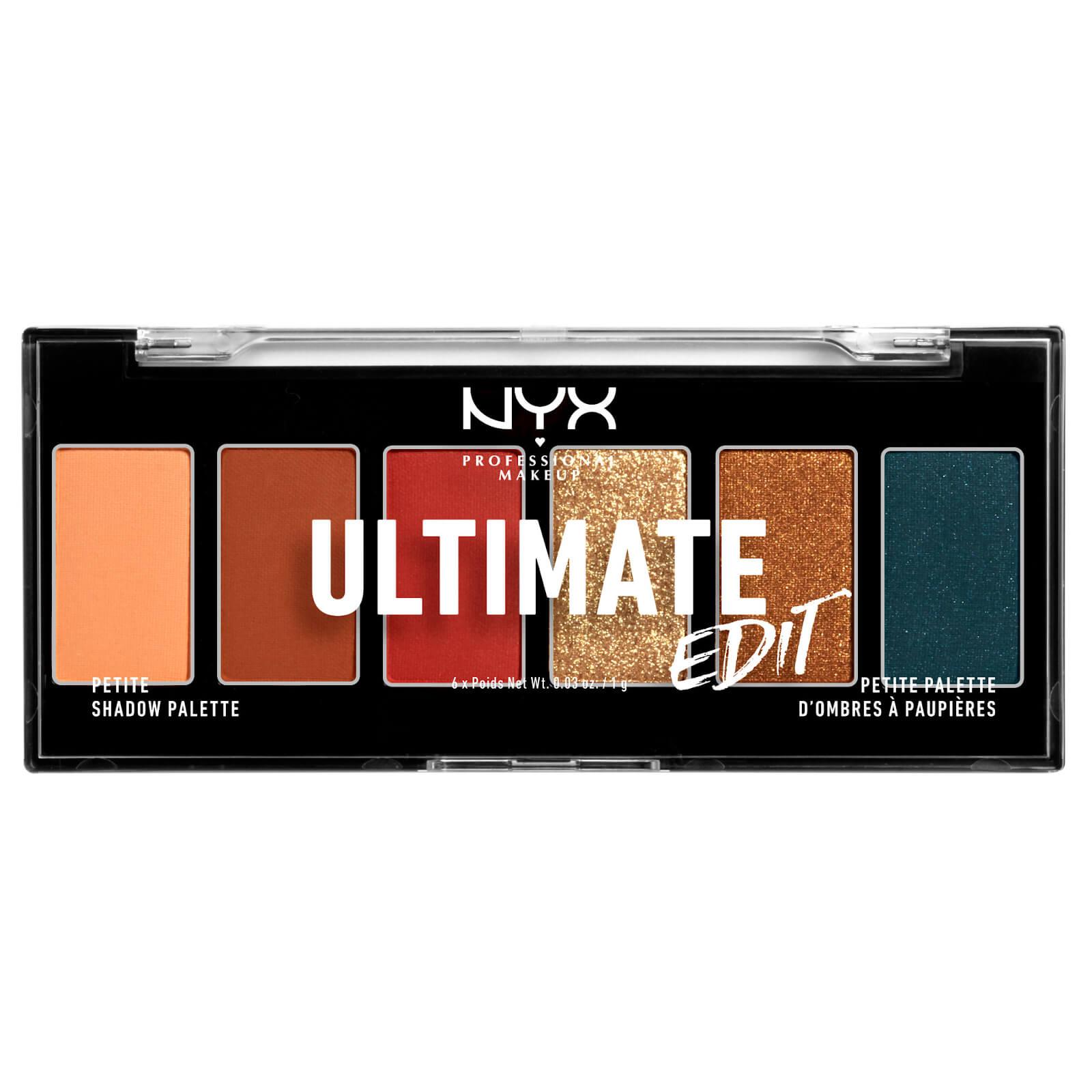 Купить NYX Professional Makeup Ultimate Shadow Palette Edit Escape Artist 6 Shades