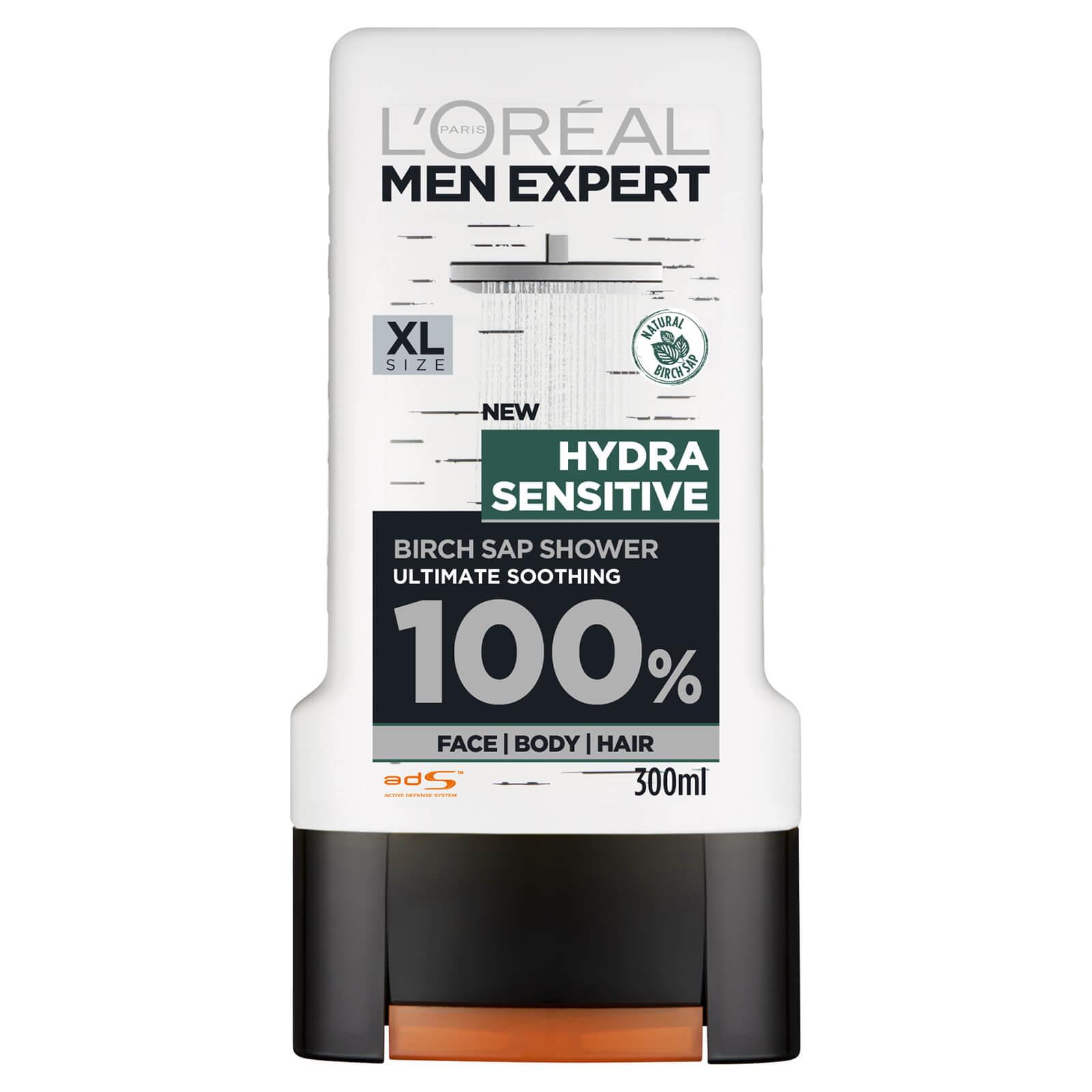 Купить L'Oreal Men Expert Hydra Sensitive 3-in-1 Shower Gel 300ml