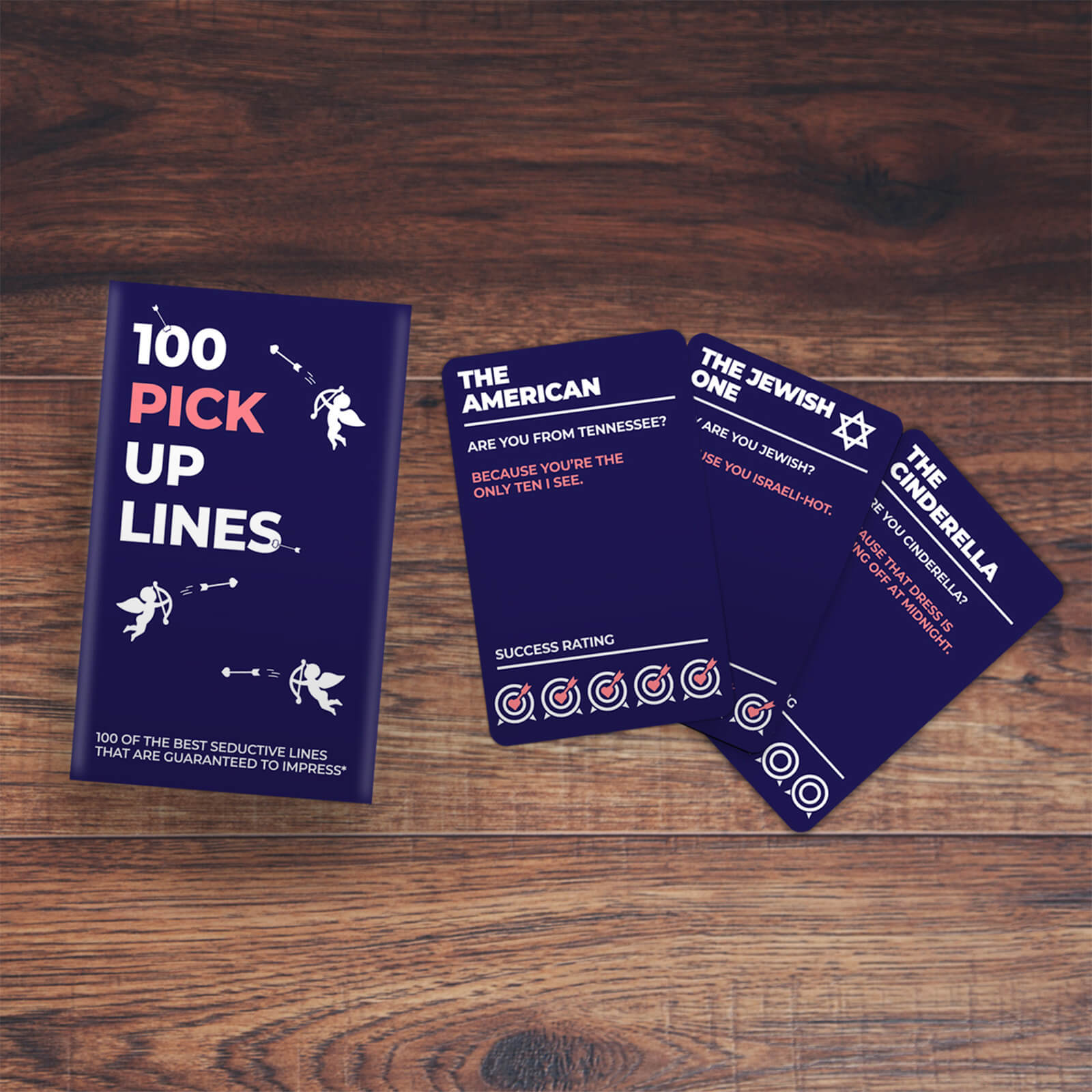 Image of 100 Pick Up Line Cards