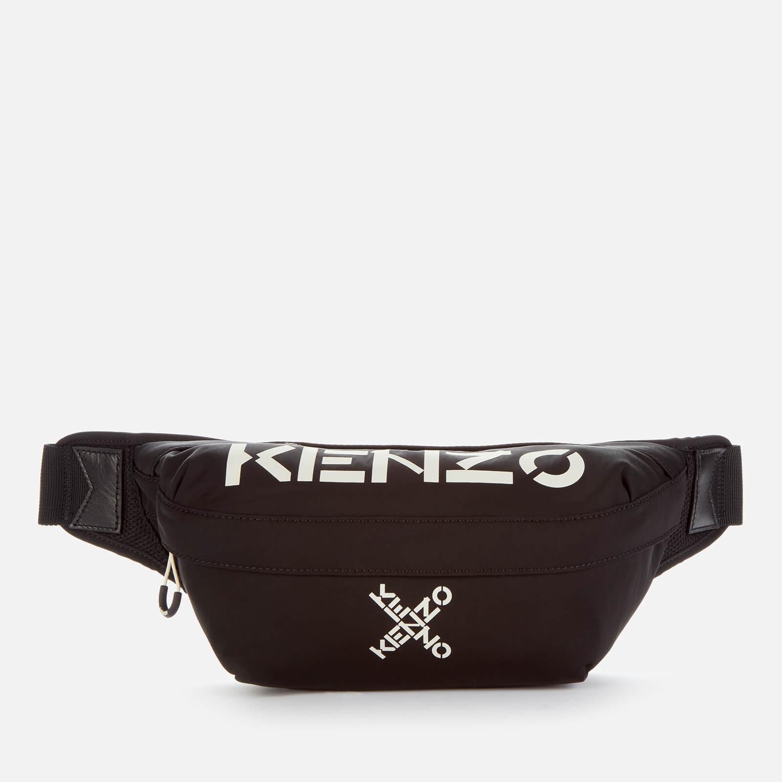 KENZO Men's Sport Belt Bag - Black
