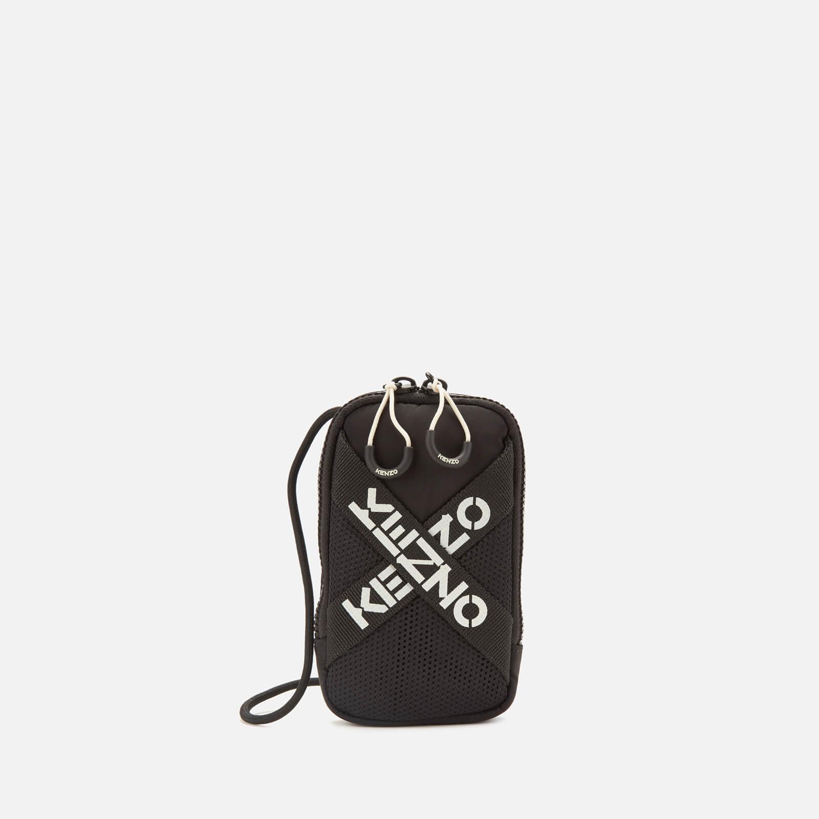 KENZO Men's Sport Phoneholder on Strap - Black