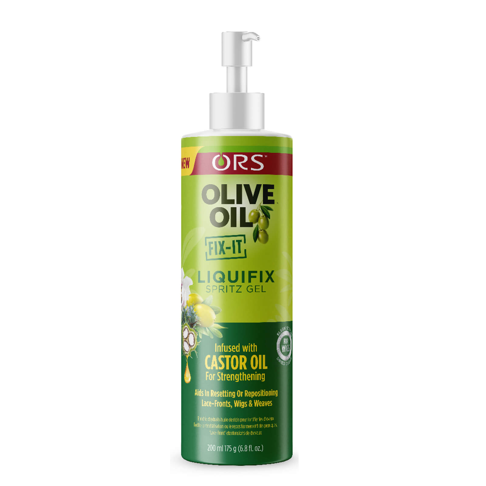 Купить ORS Olive Oil FIX IT Liquifix Spritz Gel Infused With Castor Oil 200ml