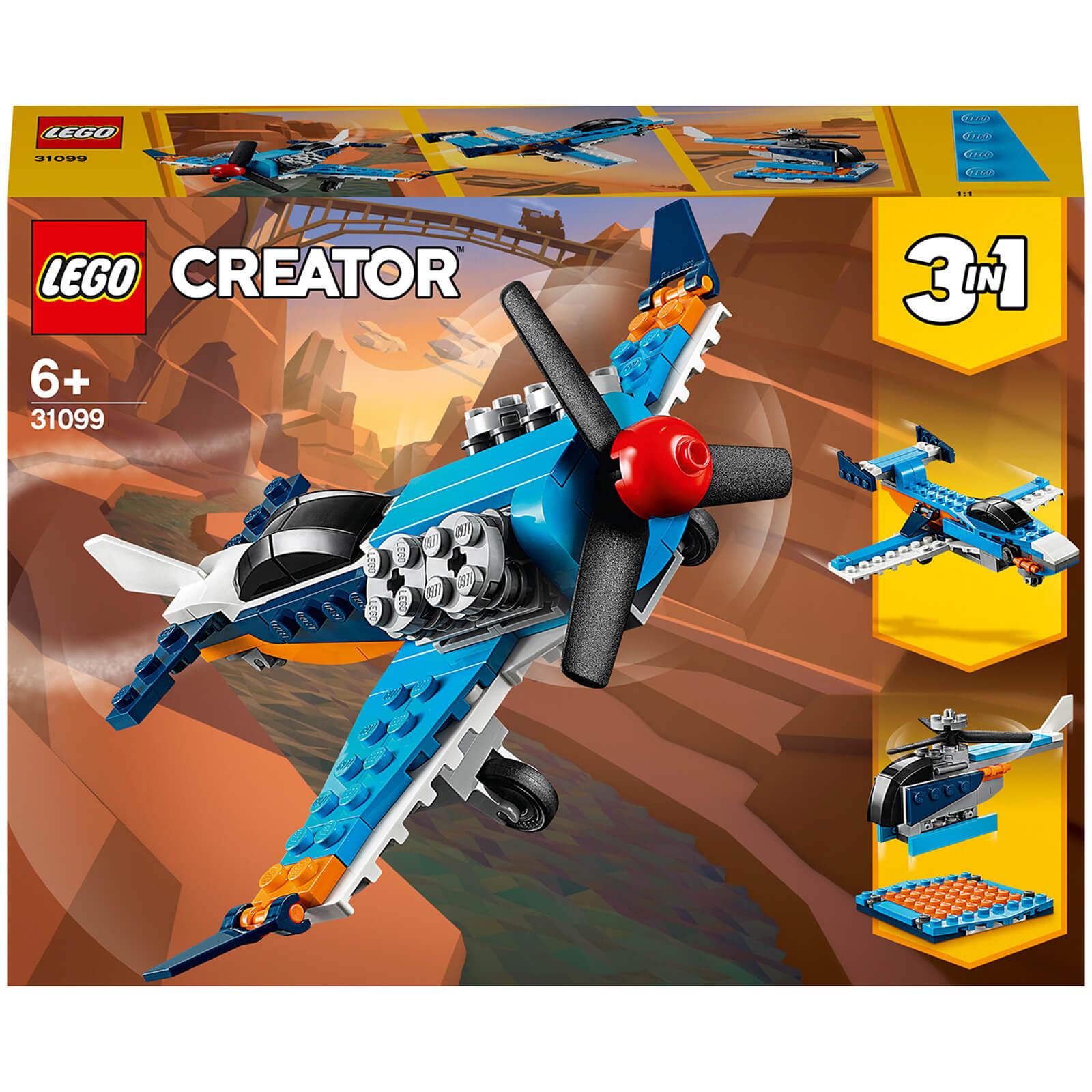Image of Lego Creator Propeller Plane