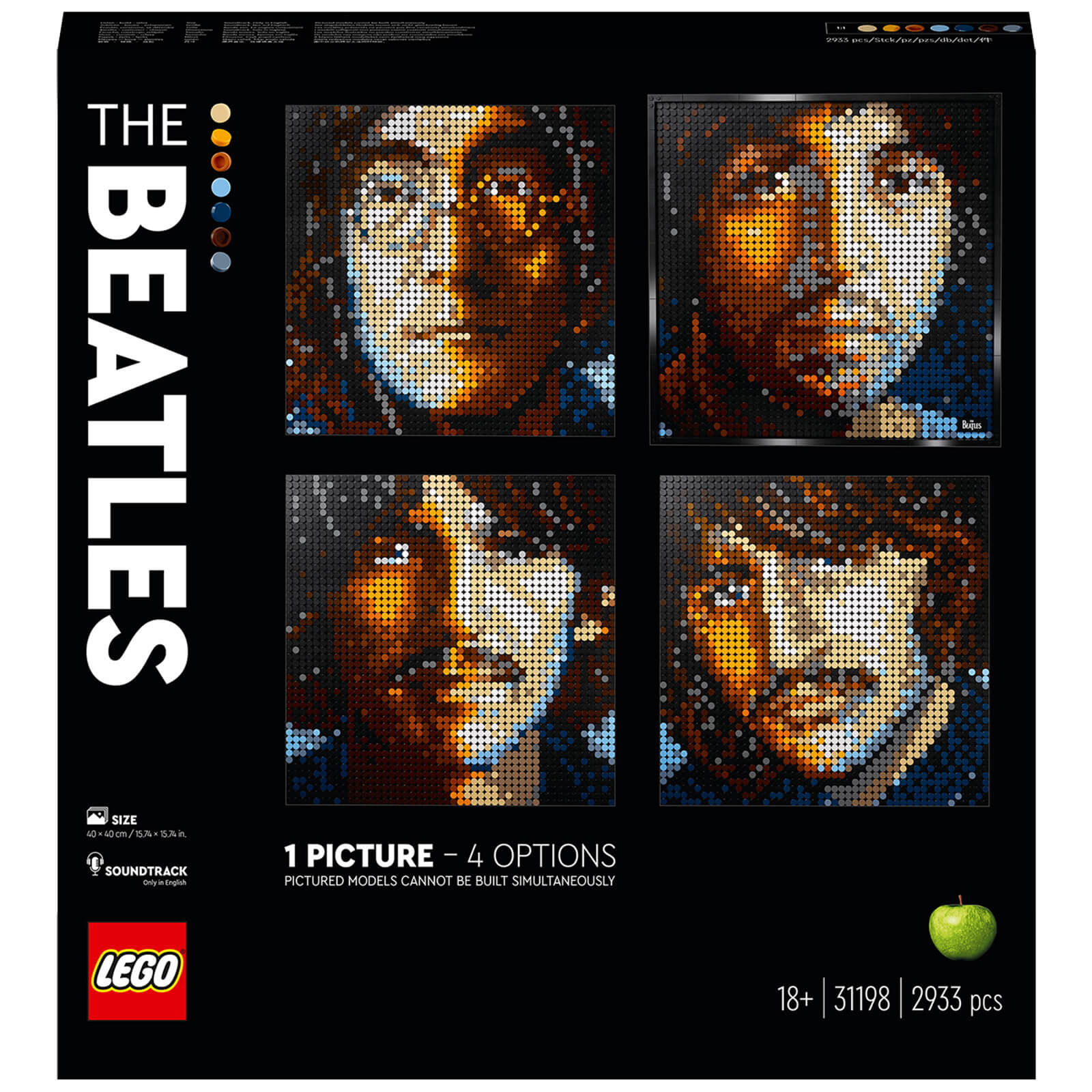 Image of LEGO Art - The Beatles