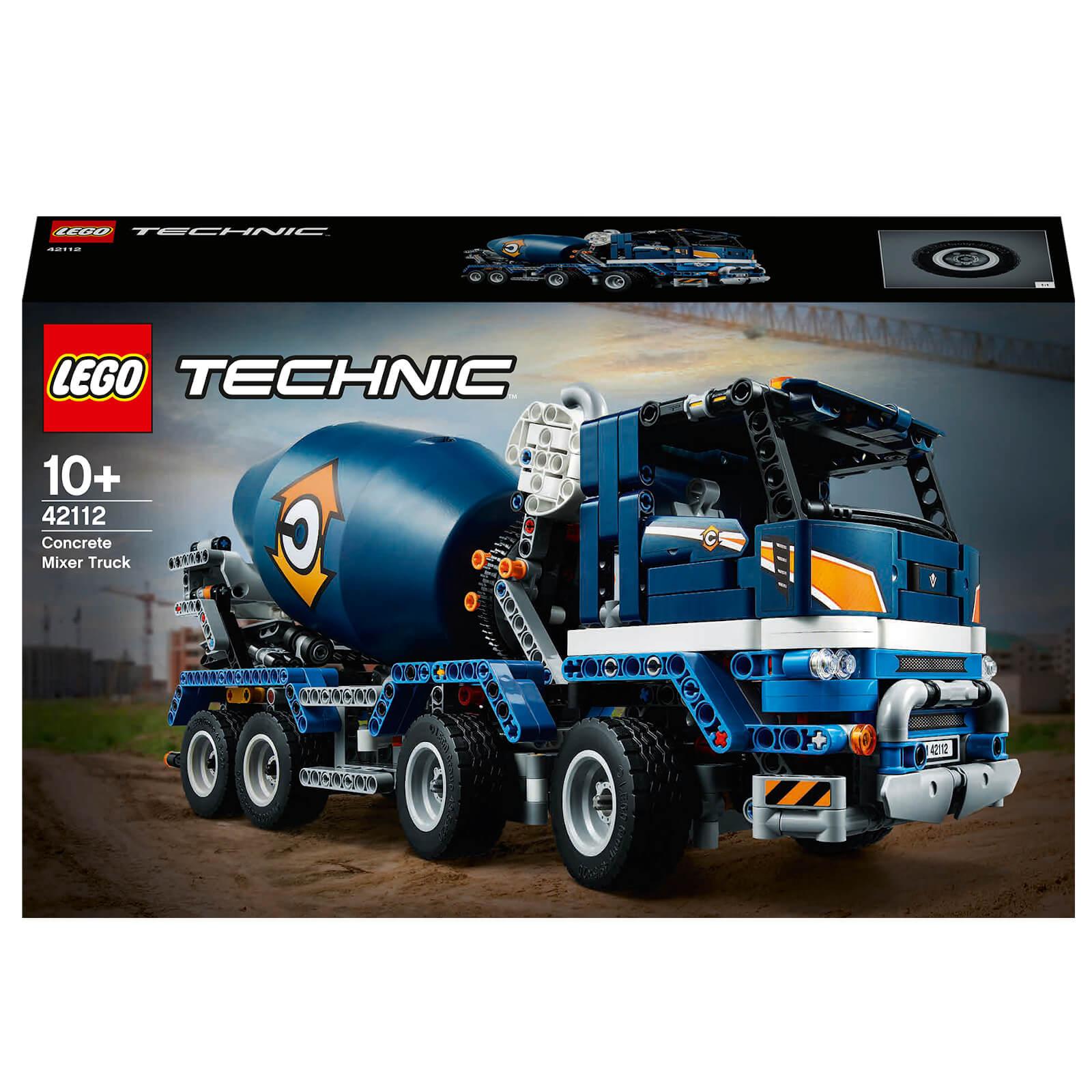 Image of LEGO Technic Concrete Mixer Truck - 42112