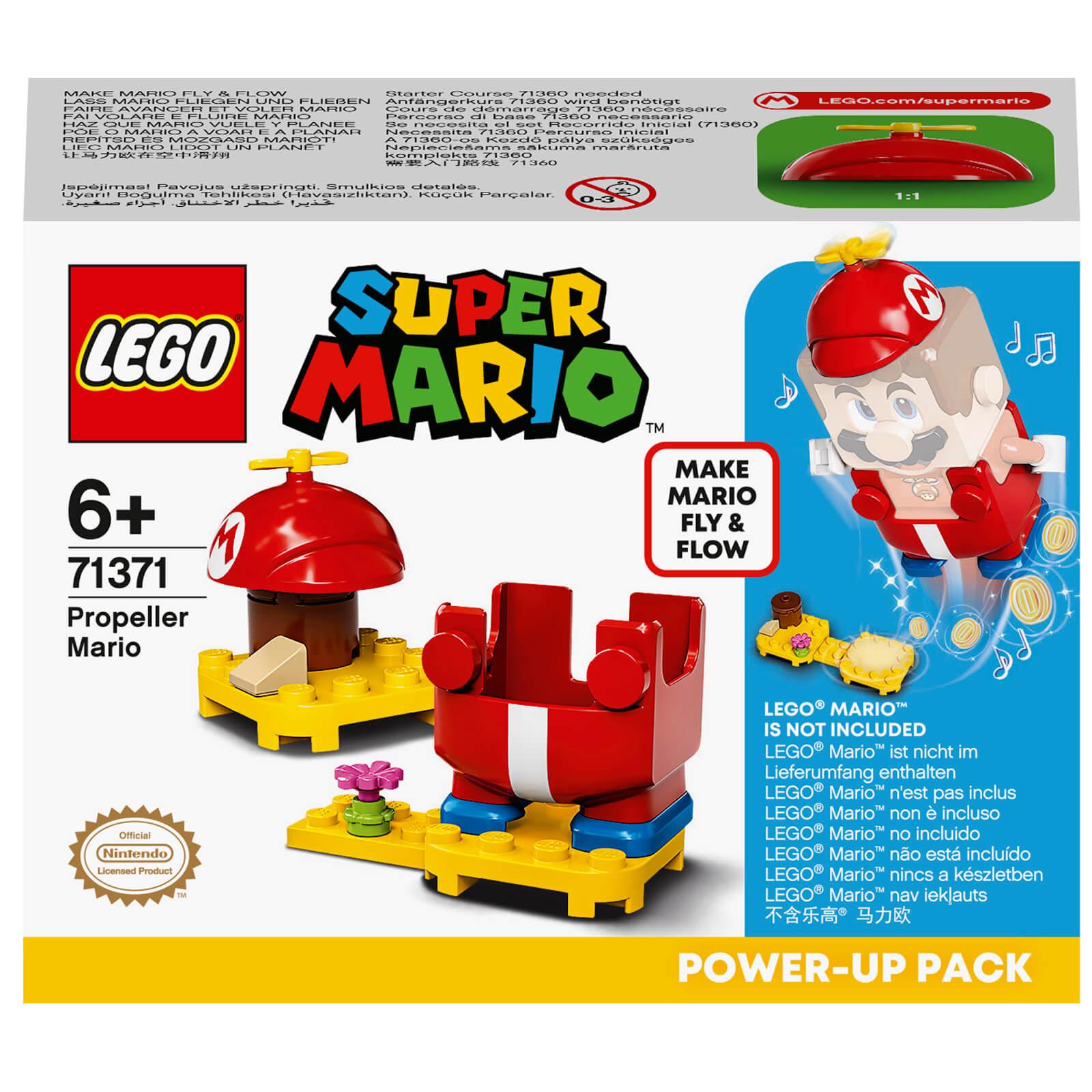 LEGO Super Mario Propeller Power Up Pack Expansion Set (71371)