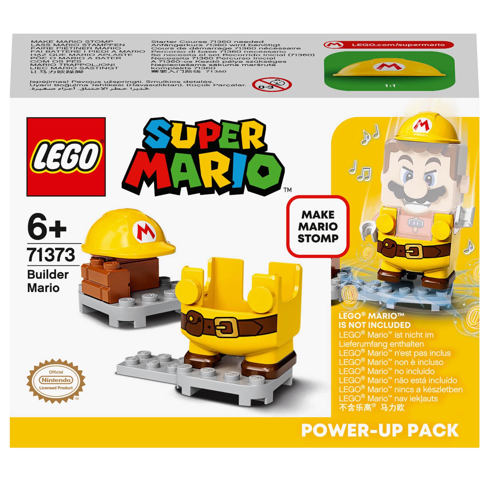 Image of LEGO Super Mario Builder Mario Power-Up Pack - 71373