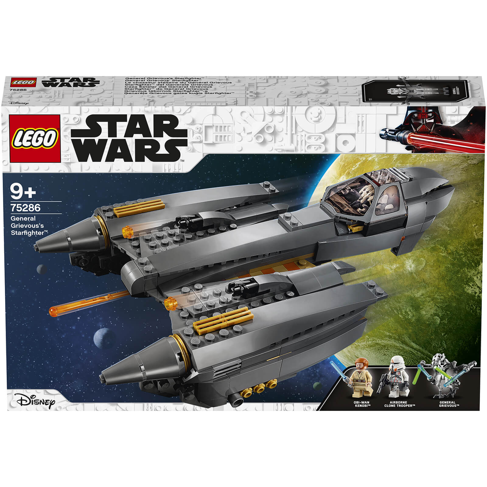 Image of LEGO Star Wars General Grievousâ??s Starfighter - 75286