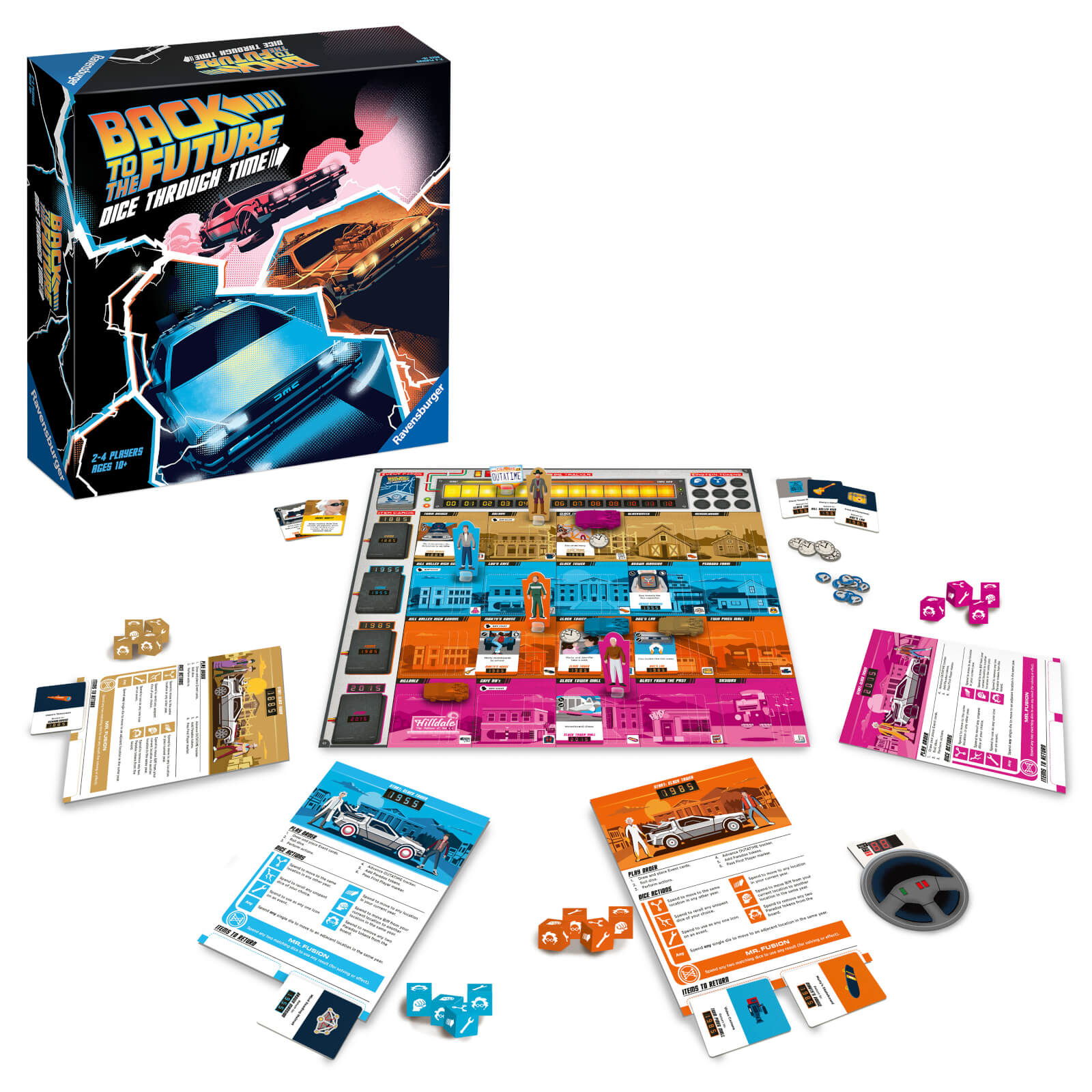 Image of Back to the Future Board Game