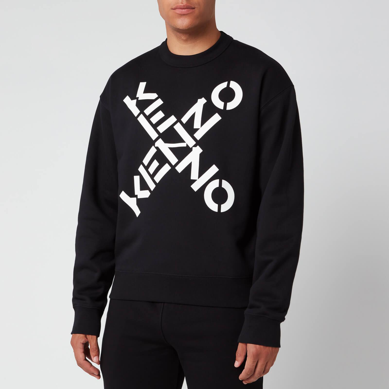 KENZO Men's Sport Oversized Sweatshirt - Black