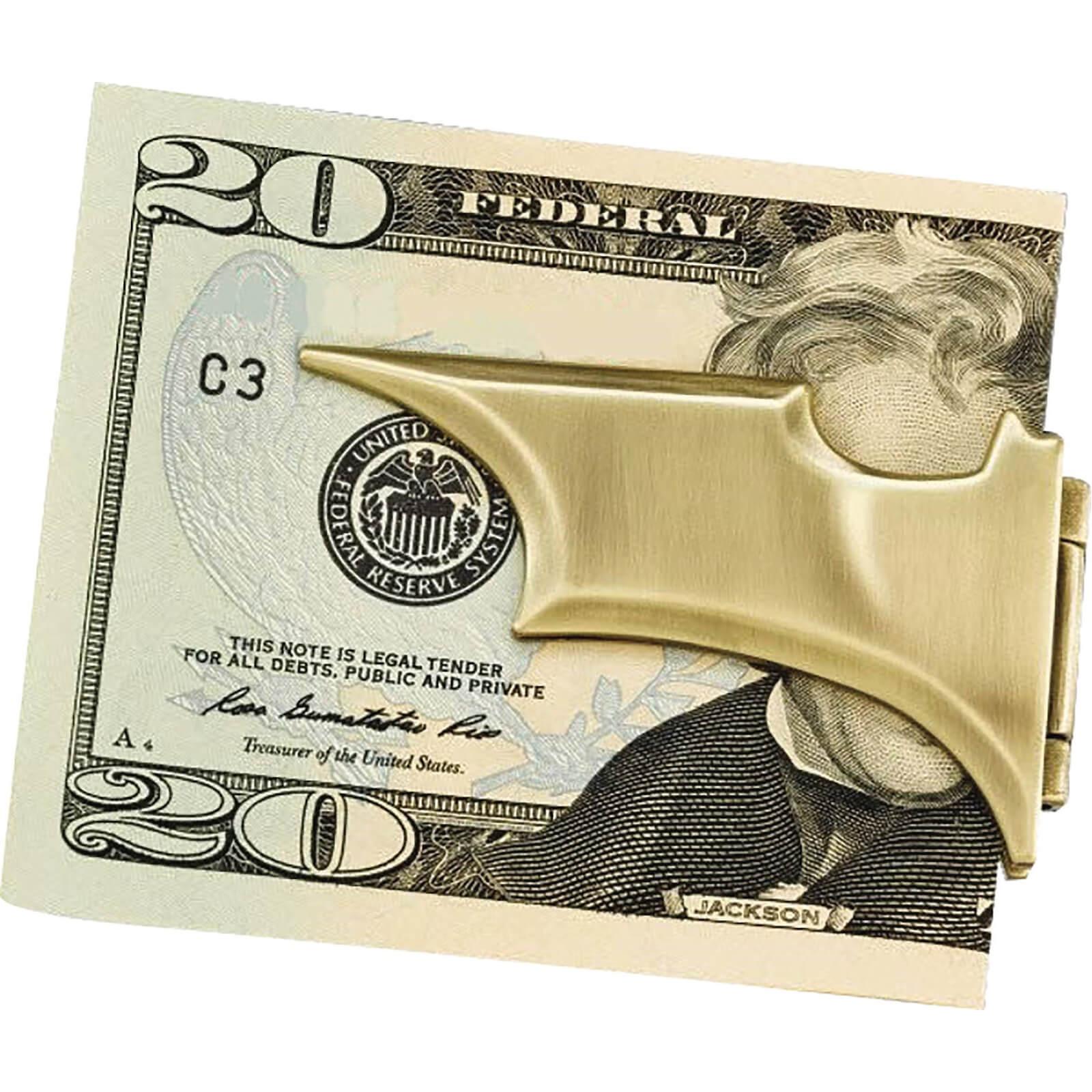 Image of DC Comics Batarang Folding Money Clip (Bronze)