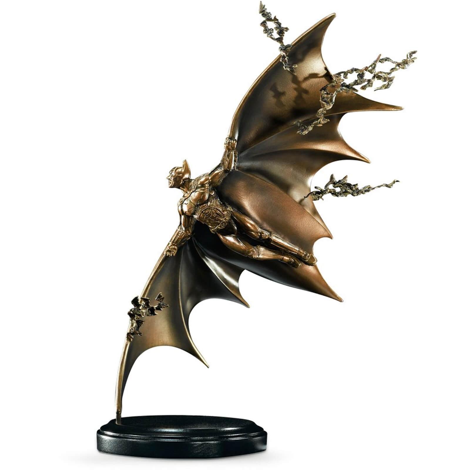 Image of DC Comics Batman Bronze Gliding Sculpture