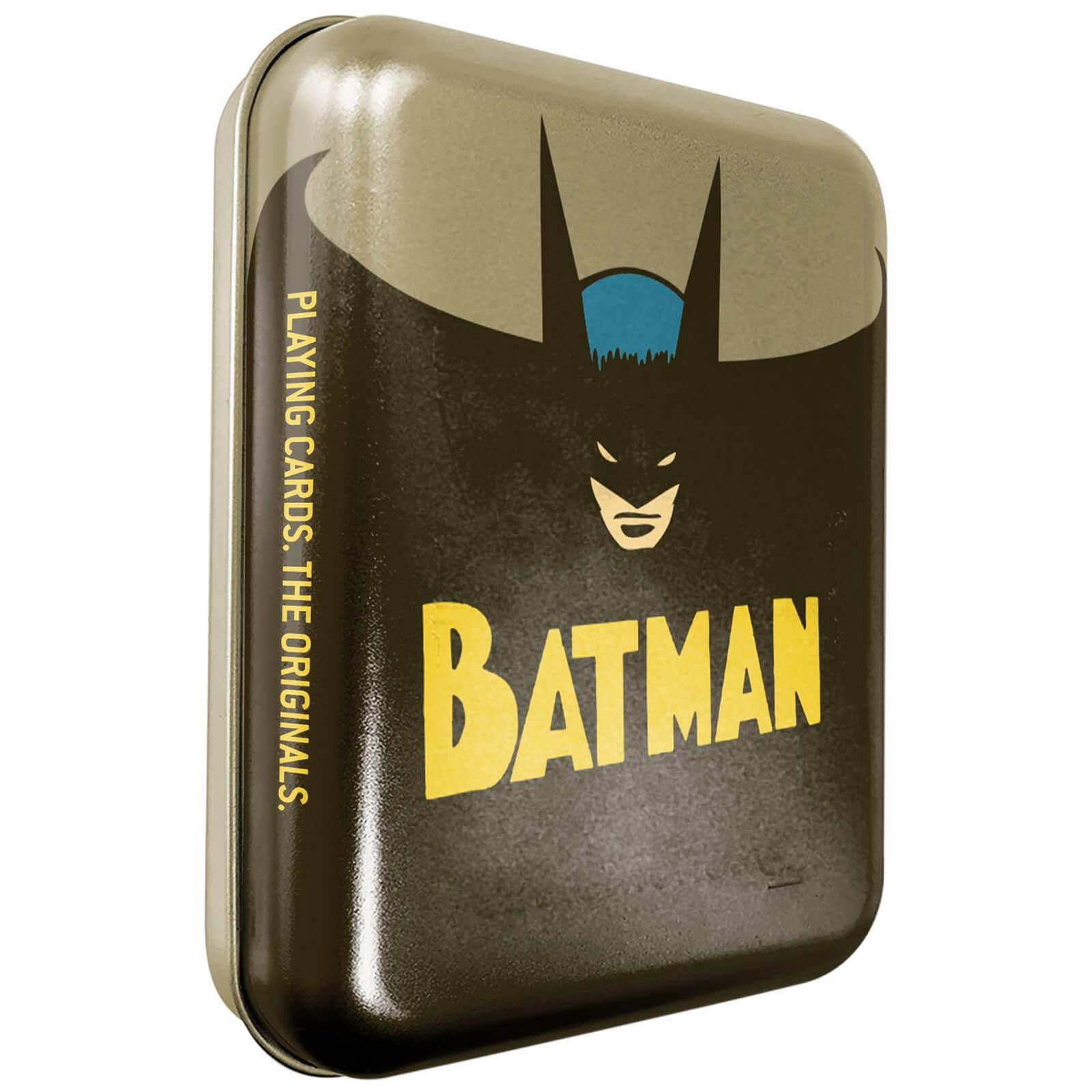 Image of DC Batman Collector Playing Cards & Tin