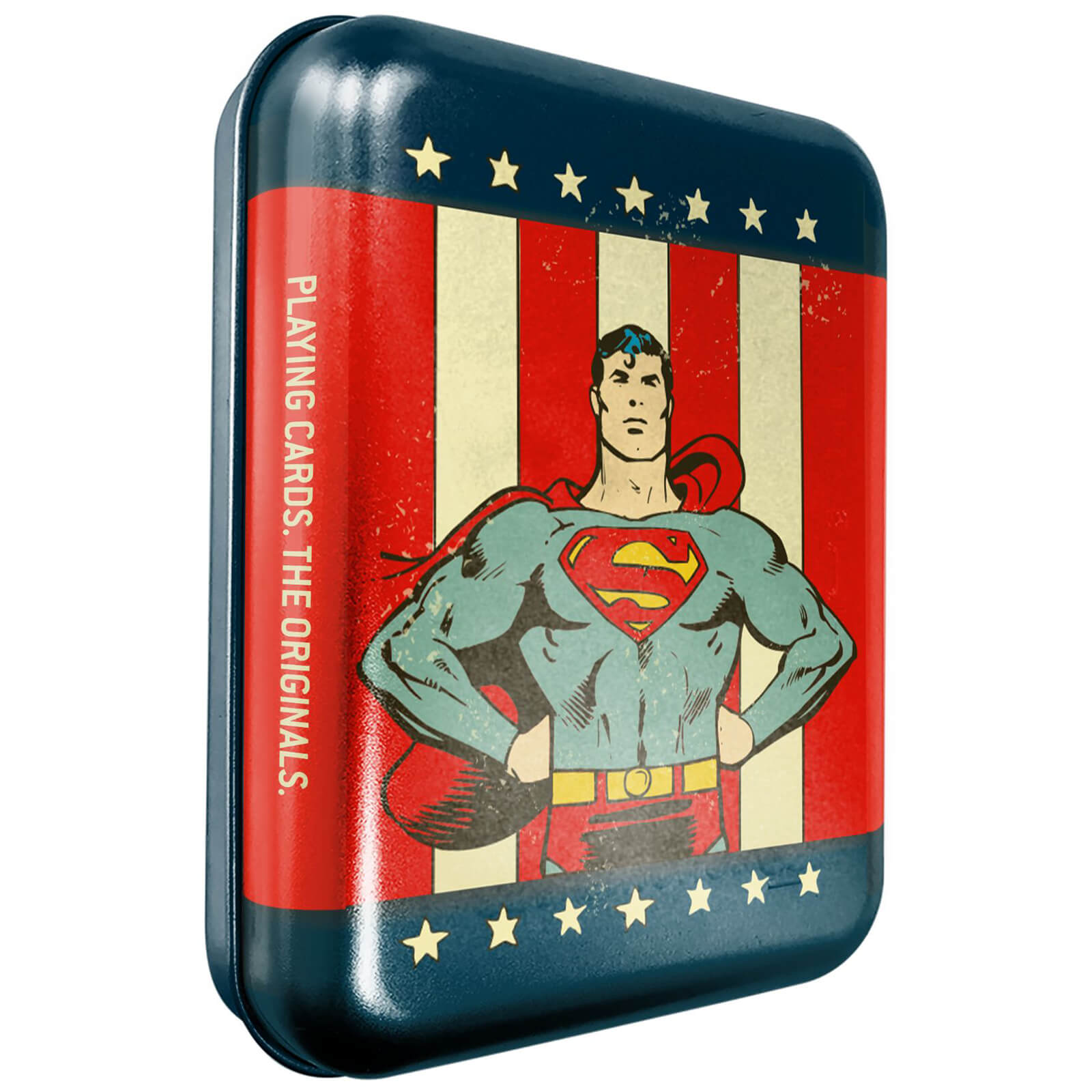 Image of DC Superman Collector Playing Cards & Tin