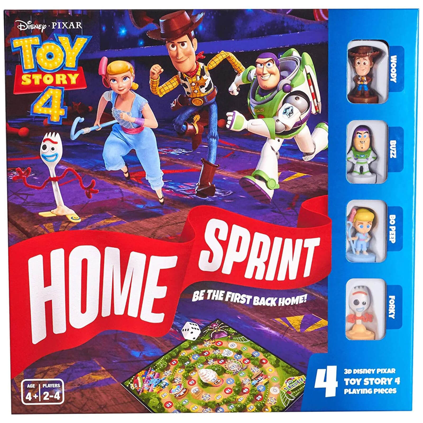 Image of Disney Toy Story 4 Home Sprint Board Game