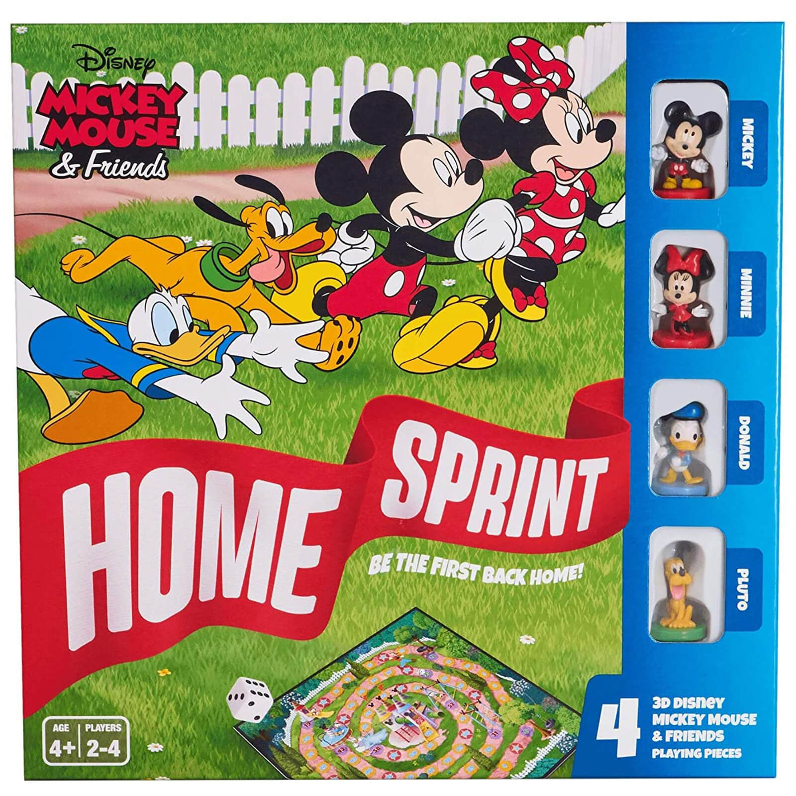 Image of Disney Mickey & Friends Home Sprint Board Game
