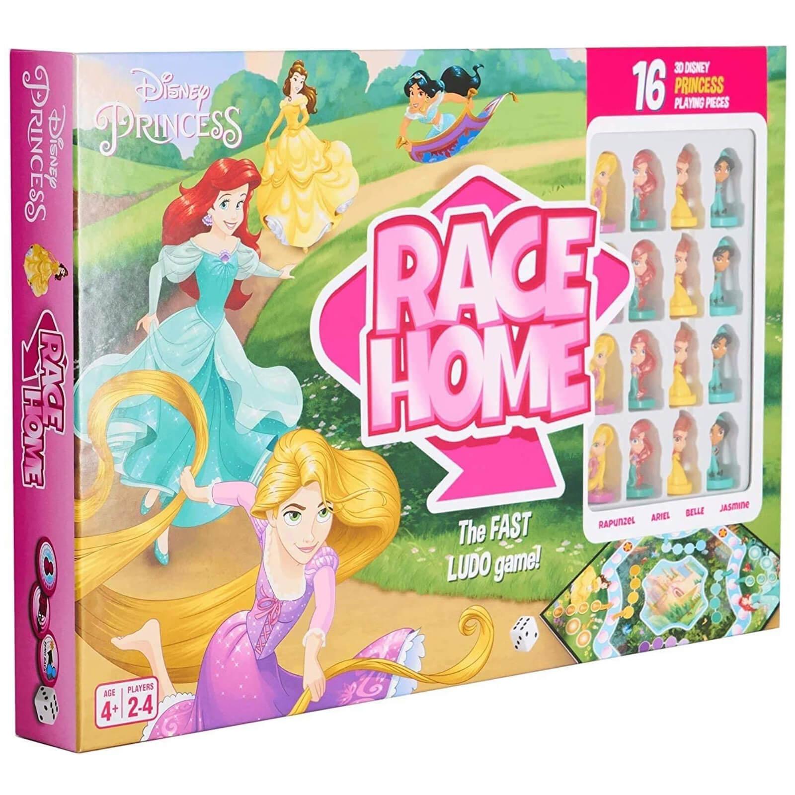 Image of Disney Princess Race Home Board Game