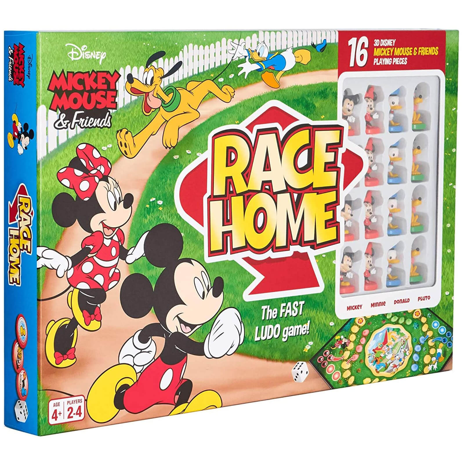 Image of Disney Mickey & Friends Race Home Board Game