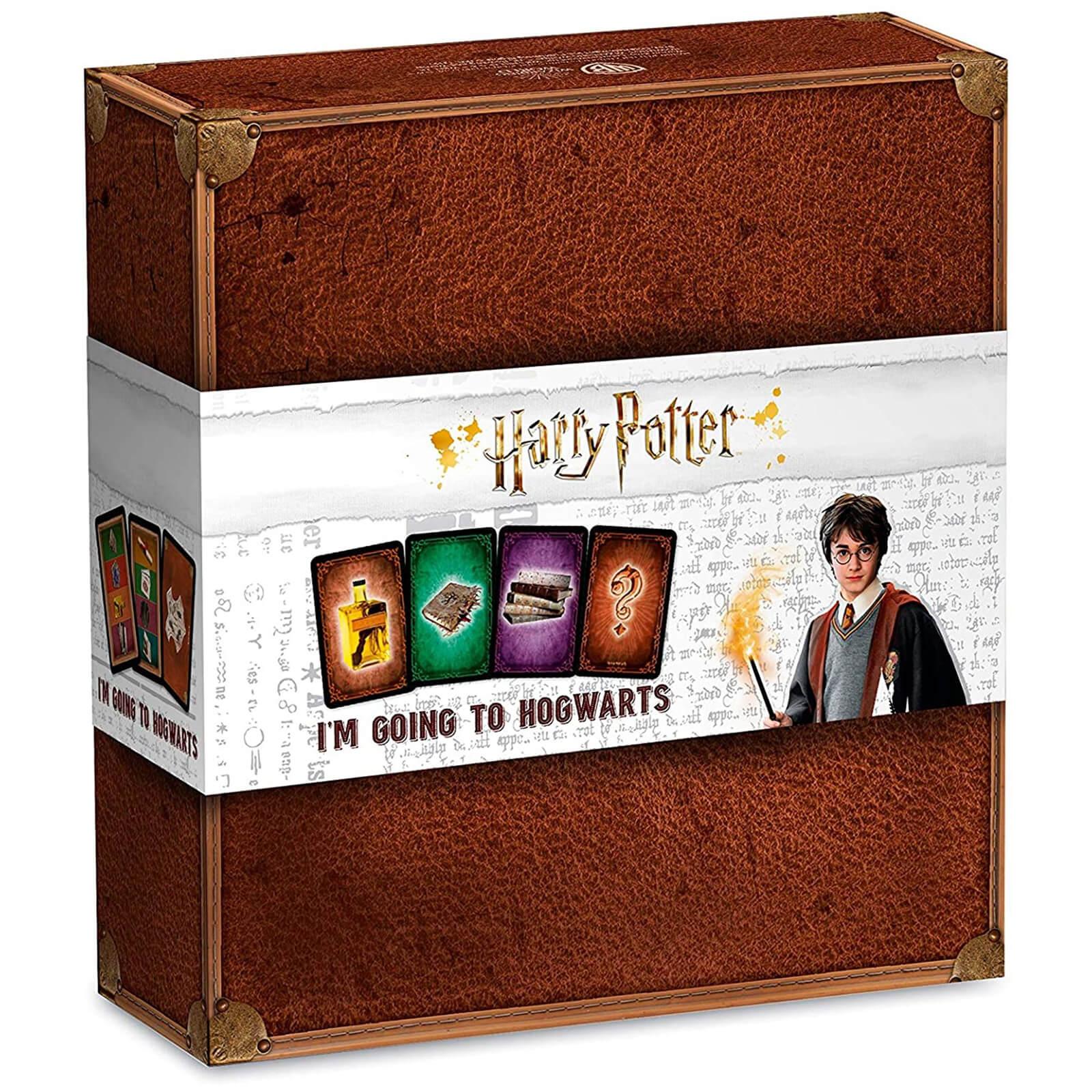 Image of Harry Potter I Go To Hogwarts Card Game