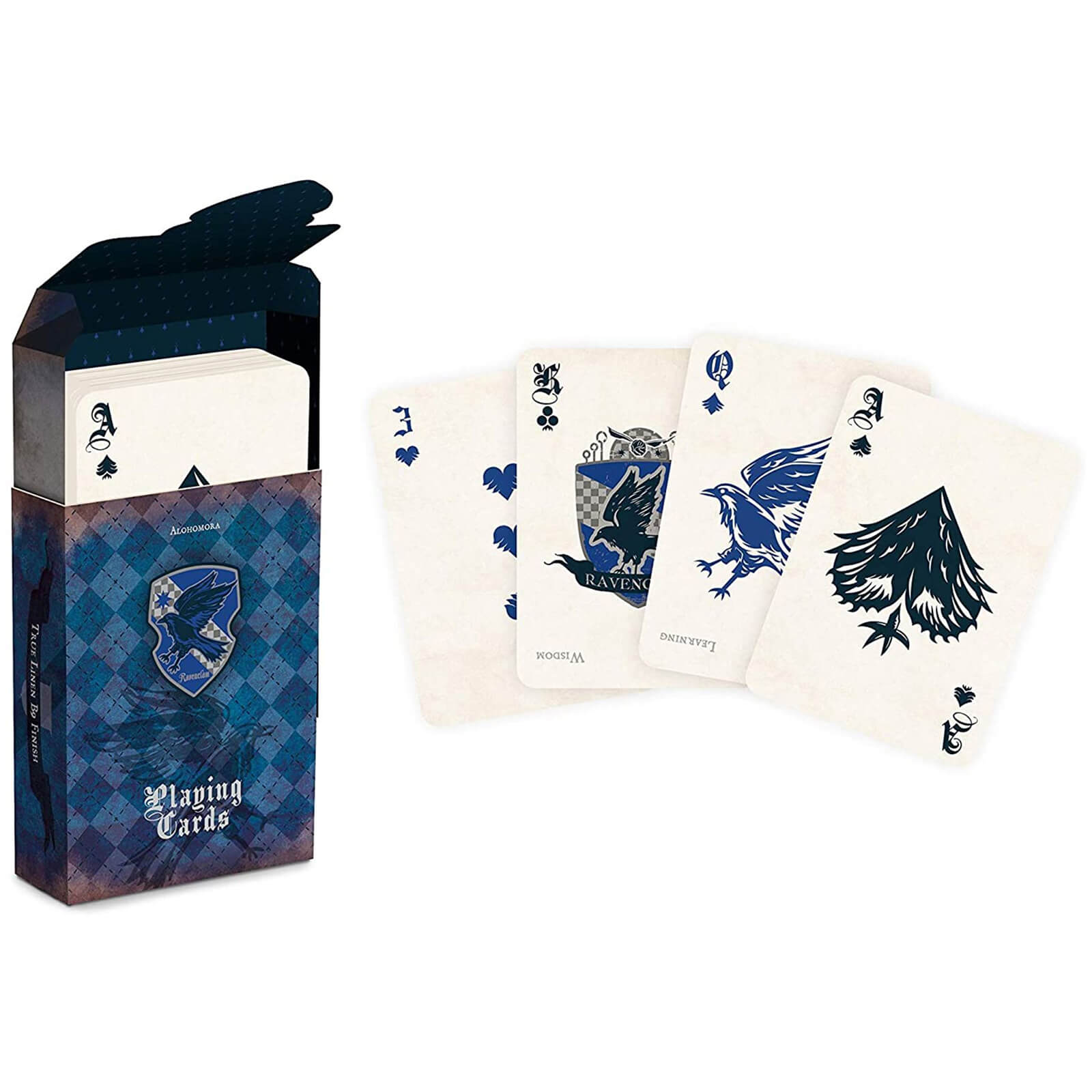 Image of Harry Potter House Playing Cards - Ravenclaw