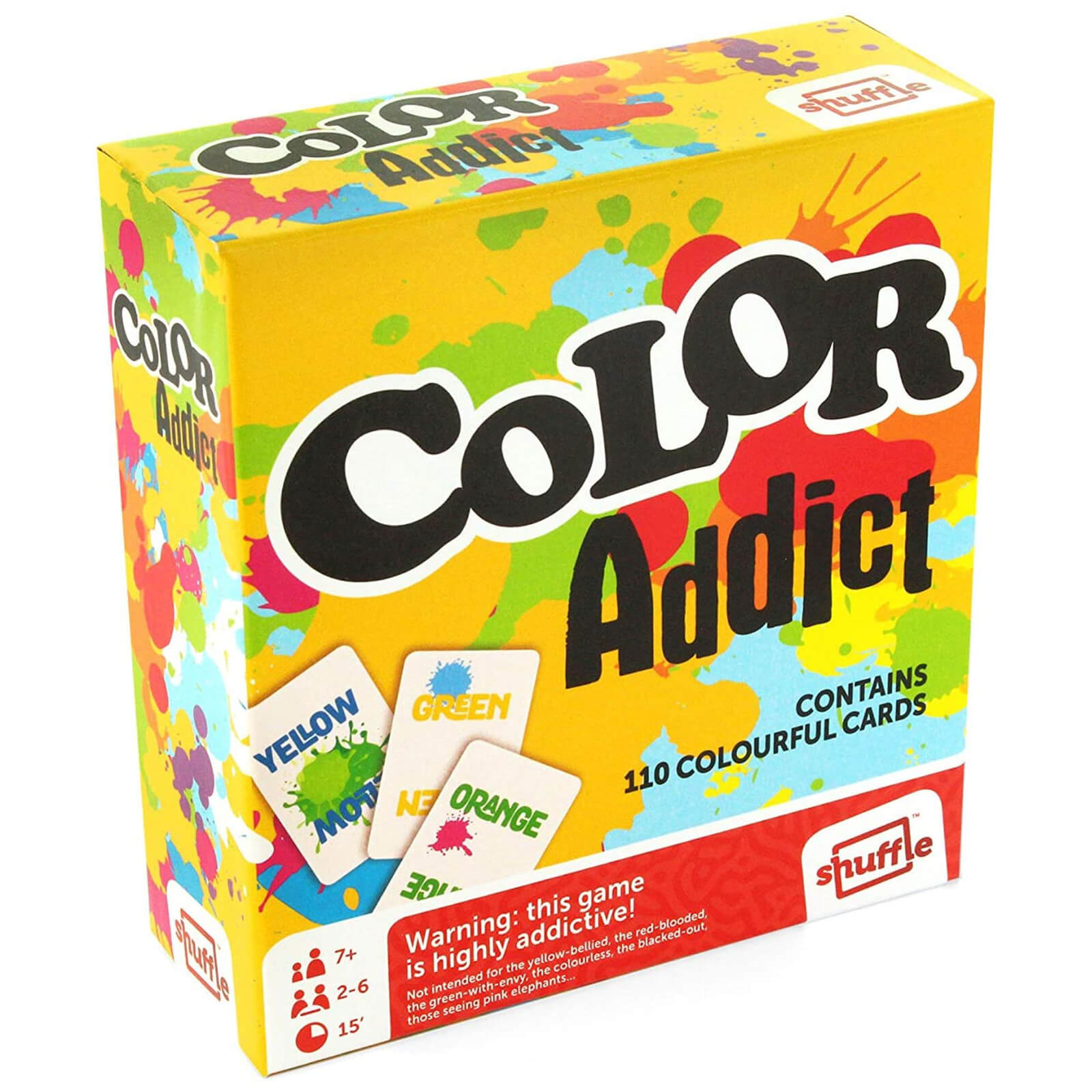 Image of Colour Addict Card Game