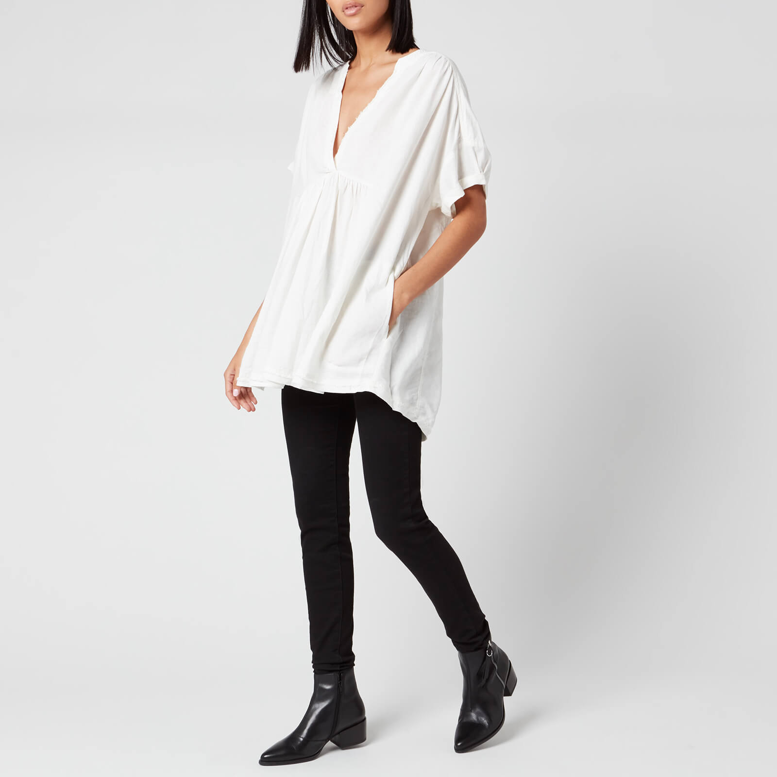 Free People Women's Getaway With Me Tunic - Ivory - M