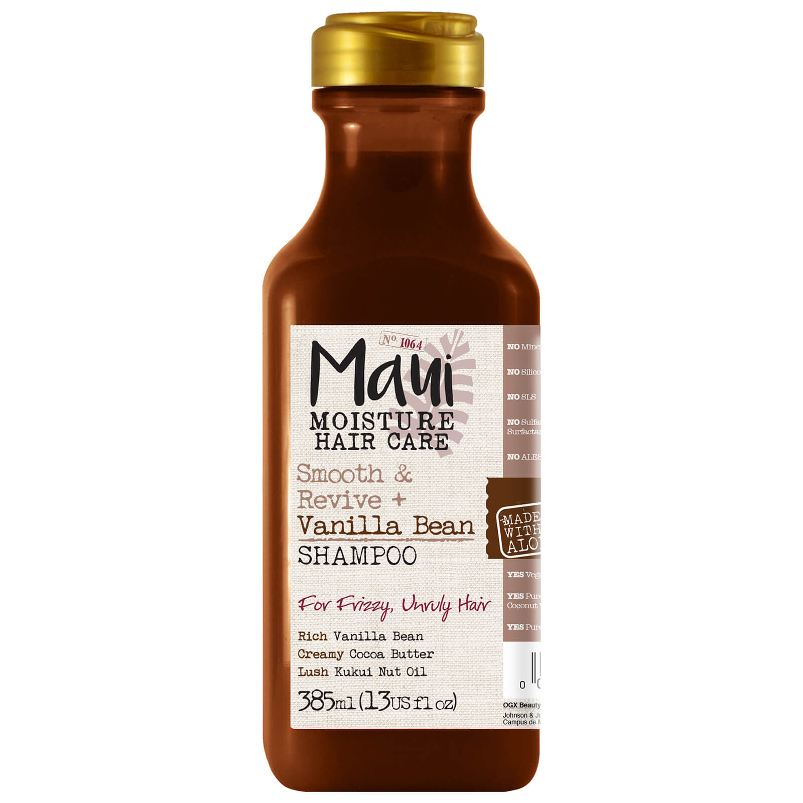 Купить Maui Moisture Smooth and Revive+ Vanilla Bean Shampoo 385ml