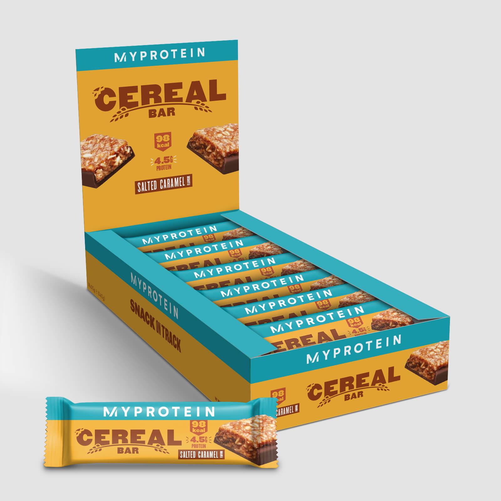 Barre de céréales - 18 x 30g - Nouveau - Caramel salé