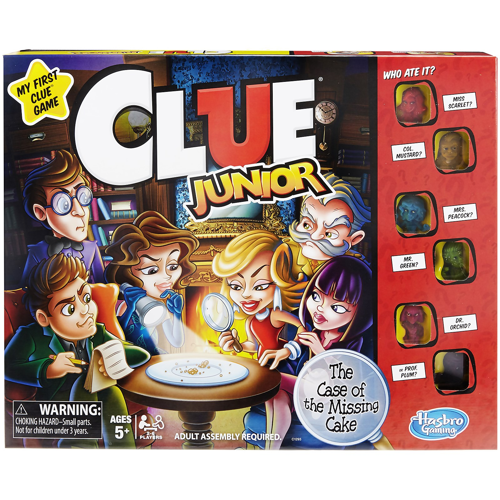 Image of Cluedo Junior - The Case of The Broken Toy Board Game