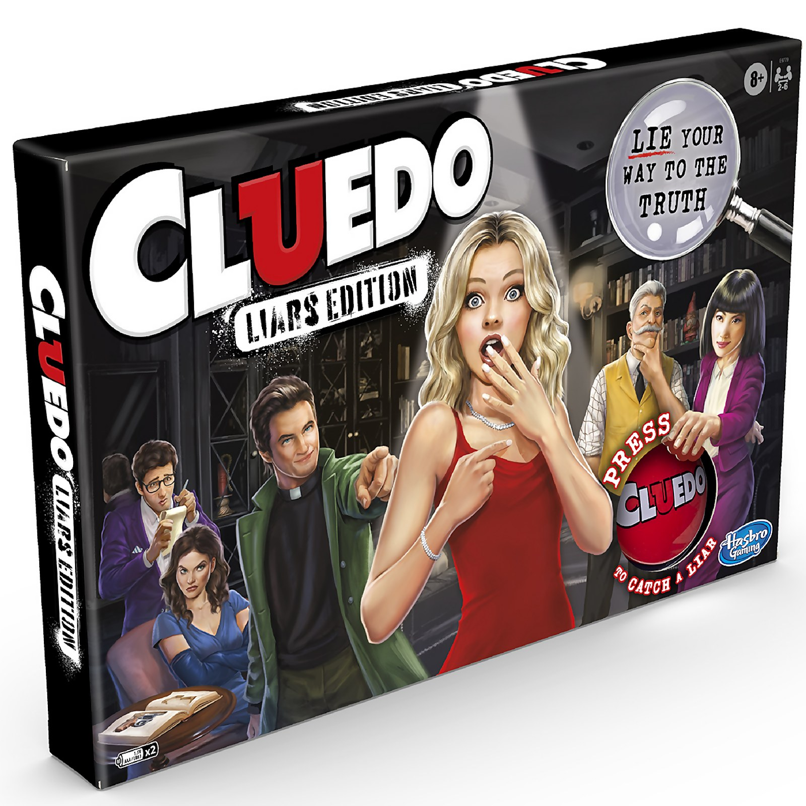 Image of Cluedo Liars Edition Board Game