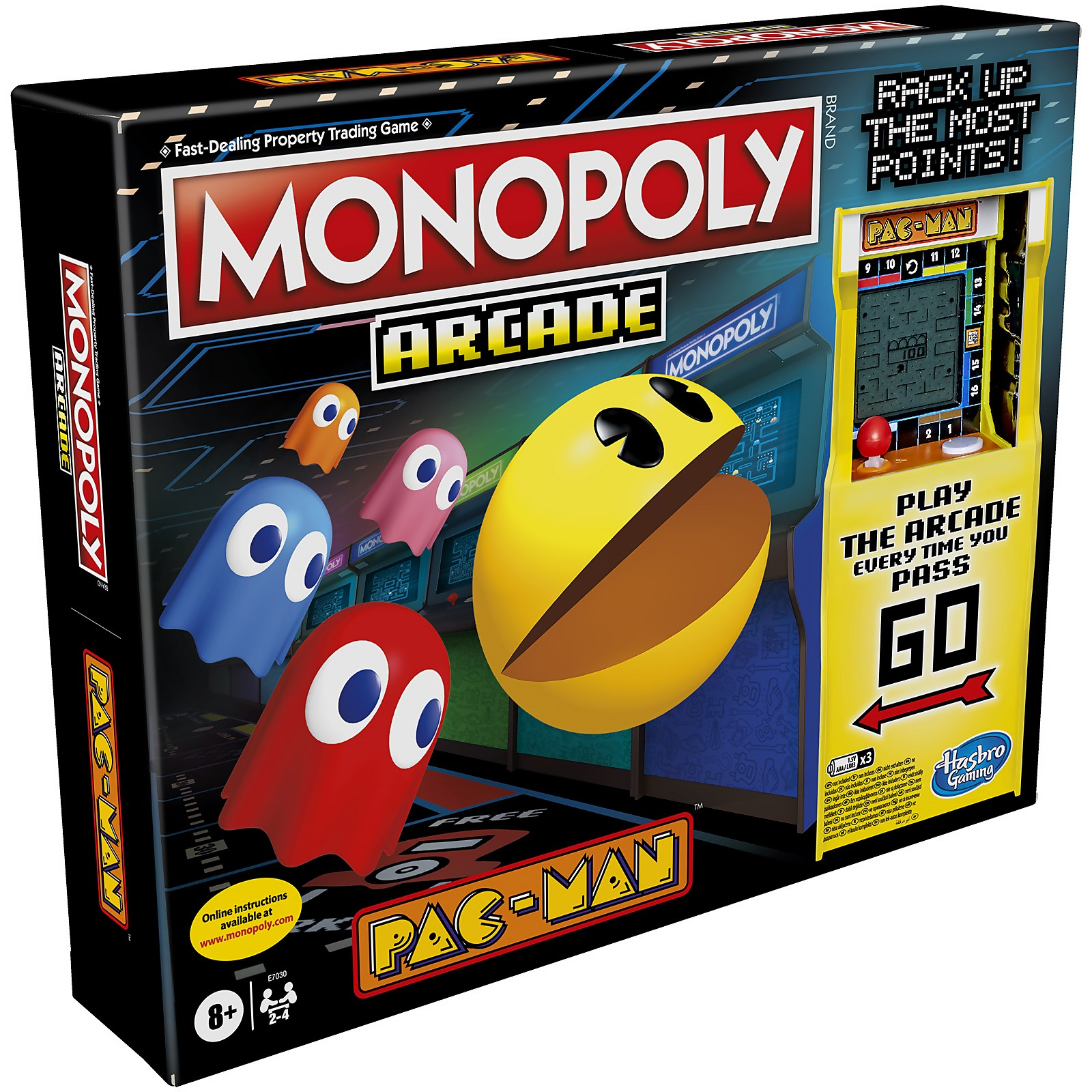 Image of Monopoly Arcade Pacman Board Game