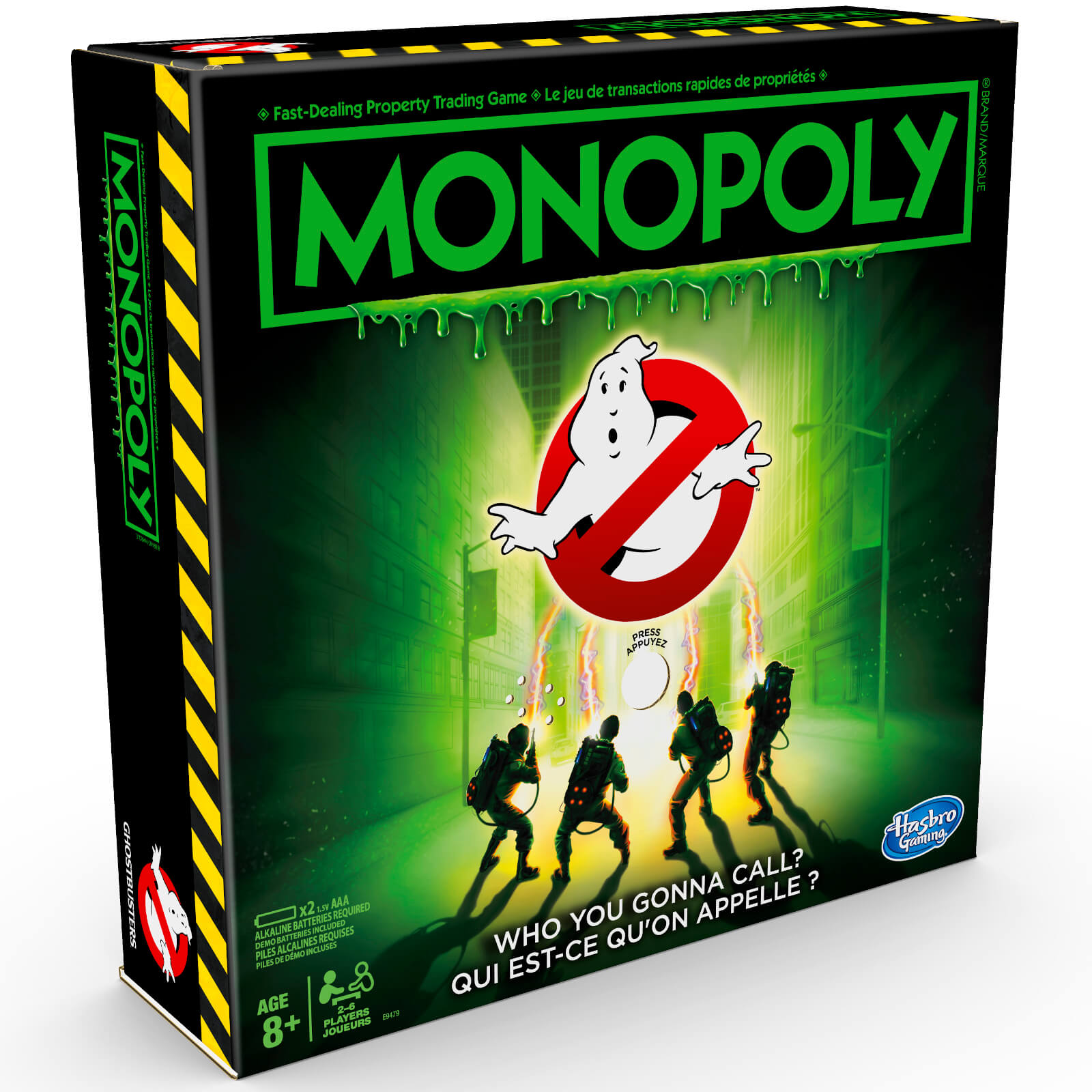 Image of Monopoly Ghostbusters Board Game