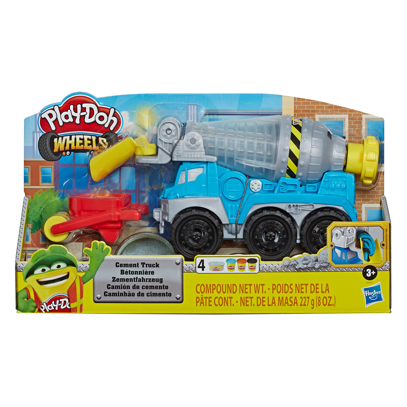 Play-Doh Cement Truck Playset