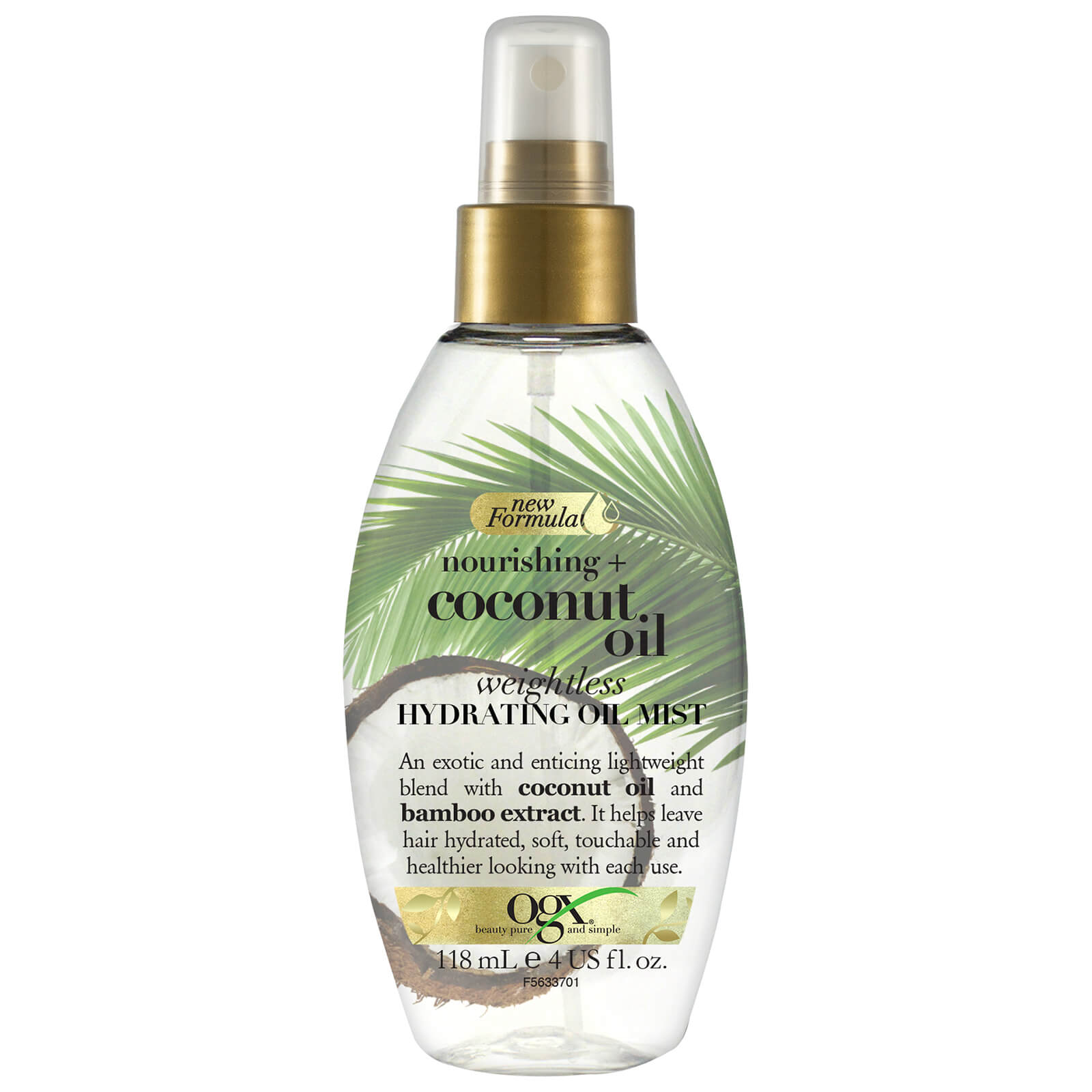 OGX Nourishing+ Coconut Oil Weightless Hydration Oil Mist 118ml