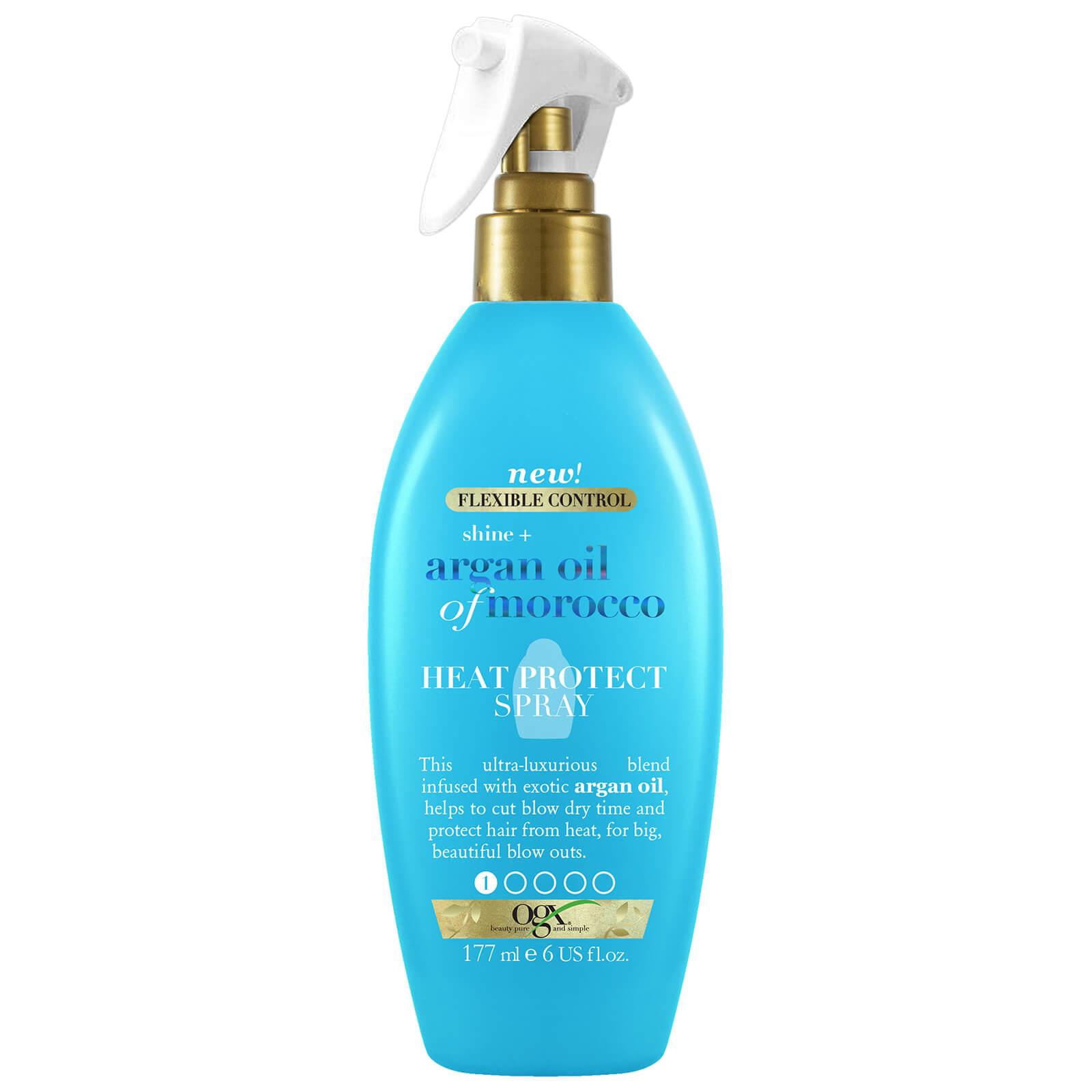 Купить OGX Shine+ Argan Oil of Morocco Heat Protect Spray 177ml