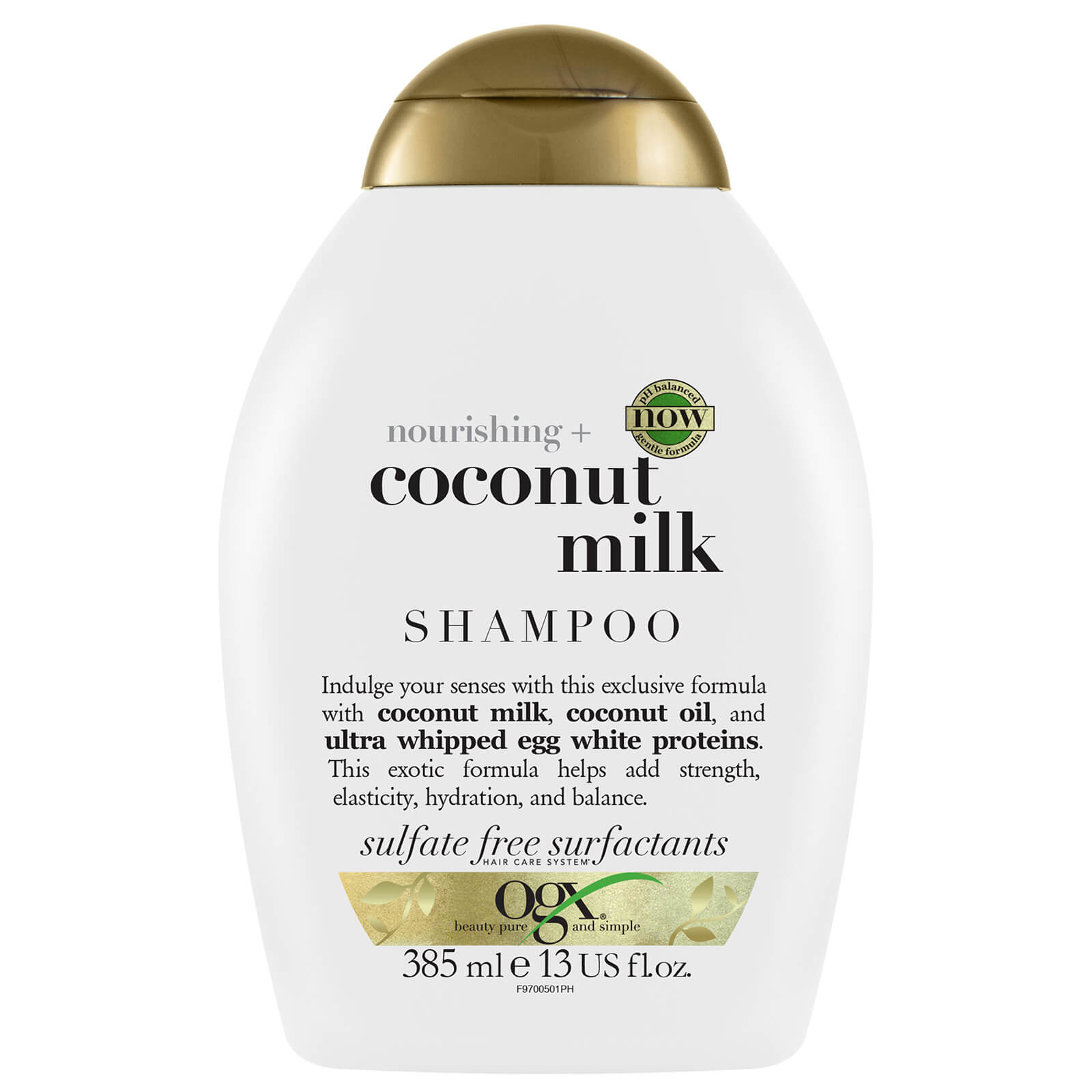 Купить OGX Nourishing+ Coconut Milk Shampoo 385ml