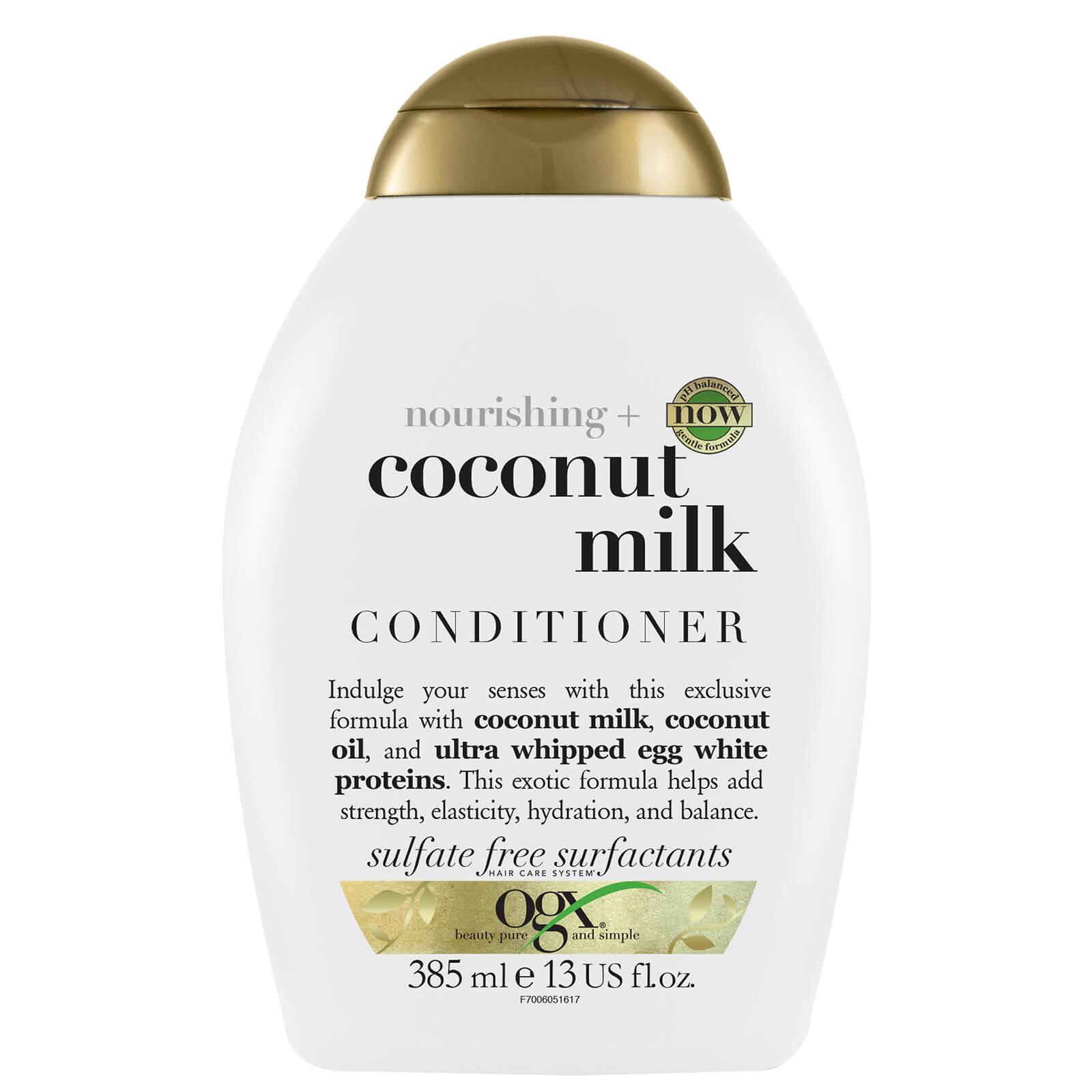 Купить OGX Nourishing+ Coconut Milk Conditioner 385ml
