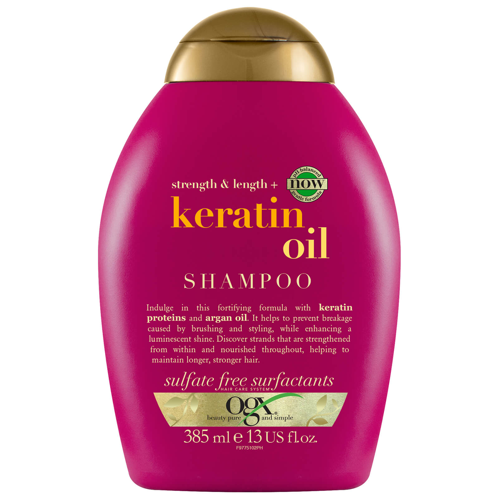 Купить OGX Anti-Breakage+ Keratin Oil Shampoo 385ml