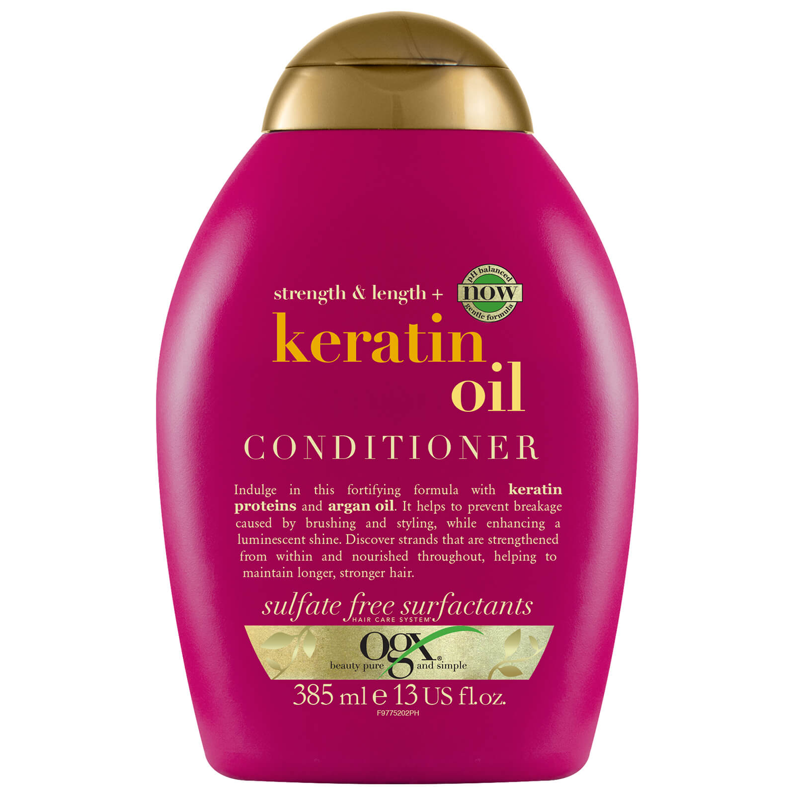 Купить OGX Anti-Breakage+ Keratin Oil Conditioner 385ml