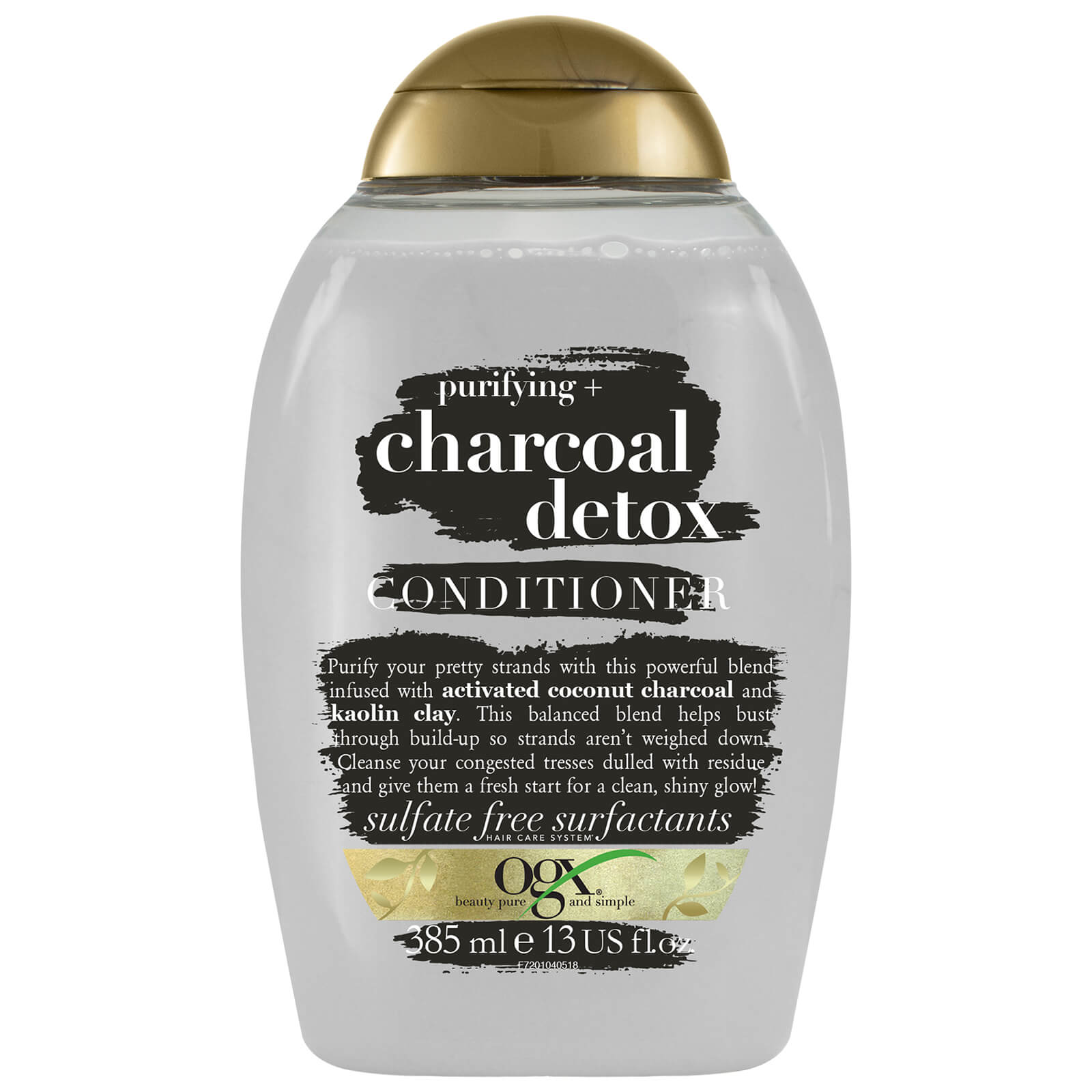 Купить OGX Purifying+ Charcoal Detox Conditioner 385ml