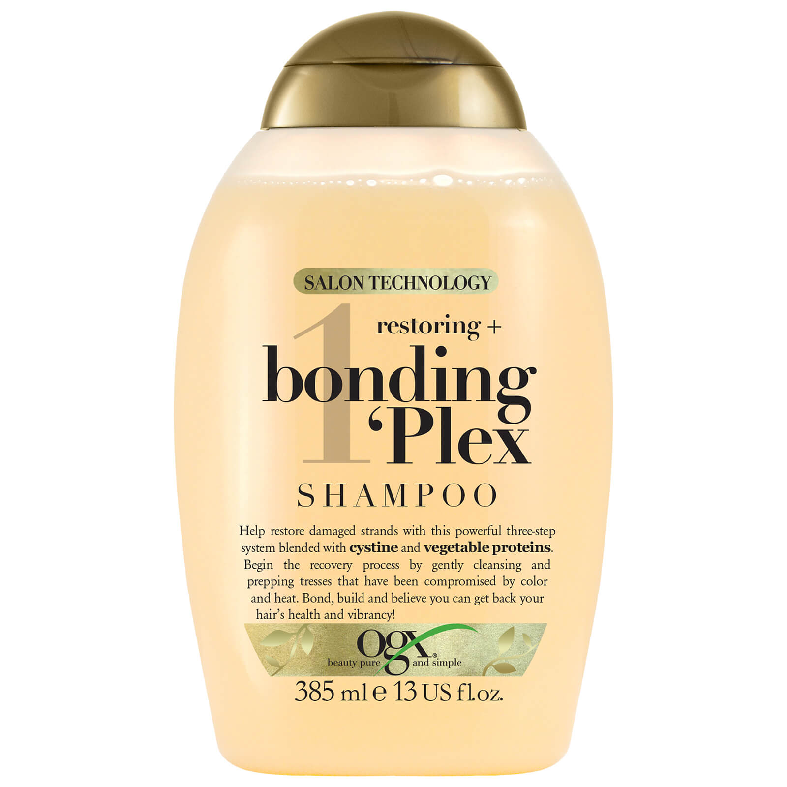 OGX Restoring+ Bonding Plex Shampoo 385ml  - Купить