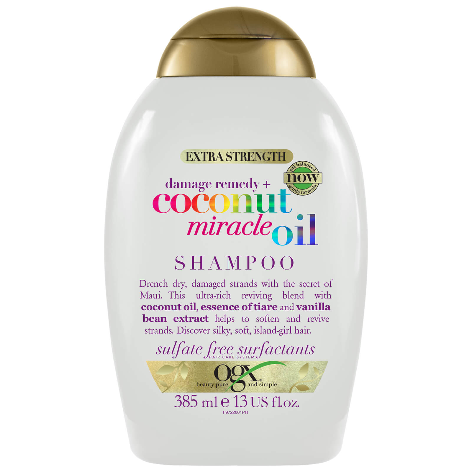 Купить OGX Damage Remedy+ Coconut Miracle Oil Shampoo 385ml