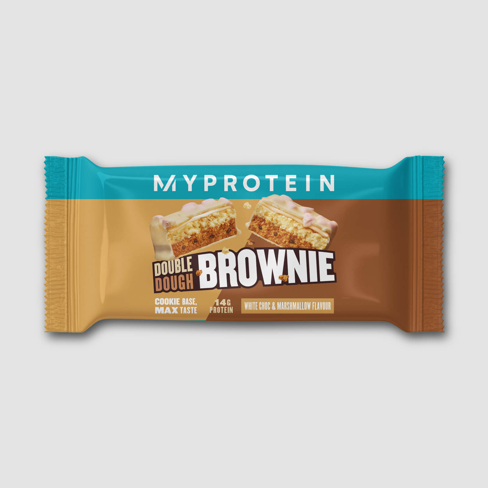 Купить Печенье с брауни (пробник) - 60g - White Chocolate and Marshmallow, Myprotein International