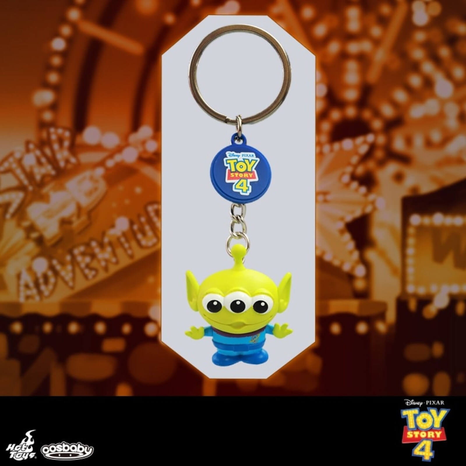 Image of Hot Toys Cosbaby Toy Story Alien Keychain