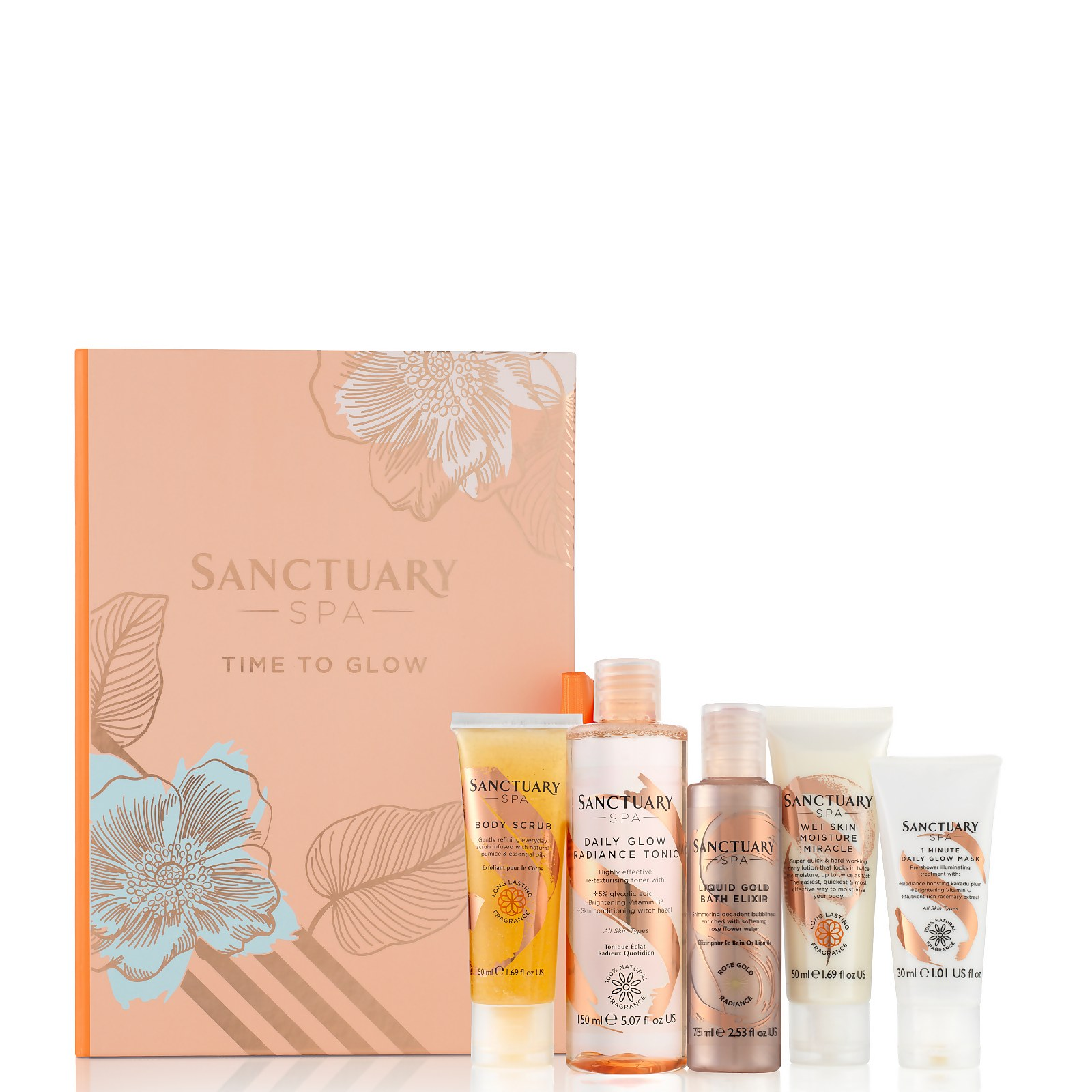 Купить Sanctuary Spa Time to Glow Gift Set