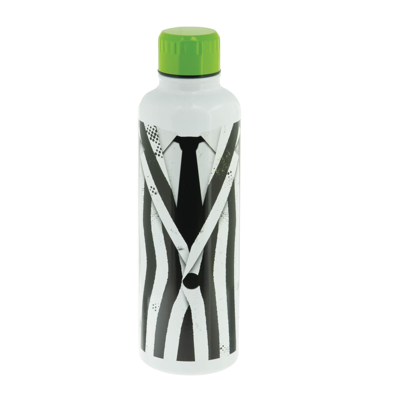 Beetlejuice Metal Water Bottle