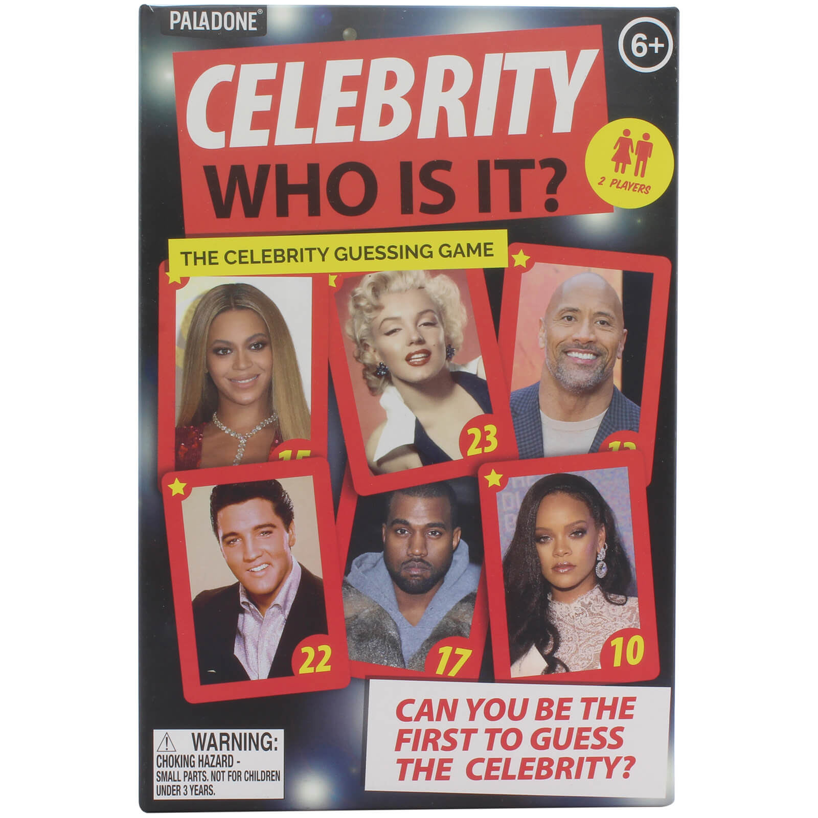 Image of Celebrity Who Is It Game