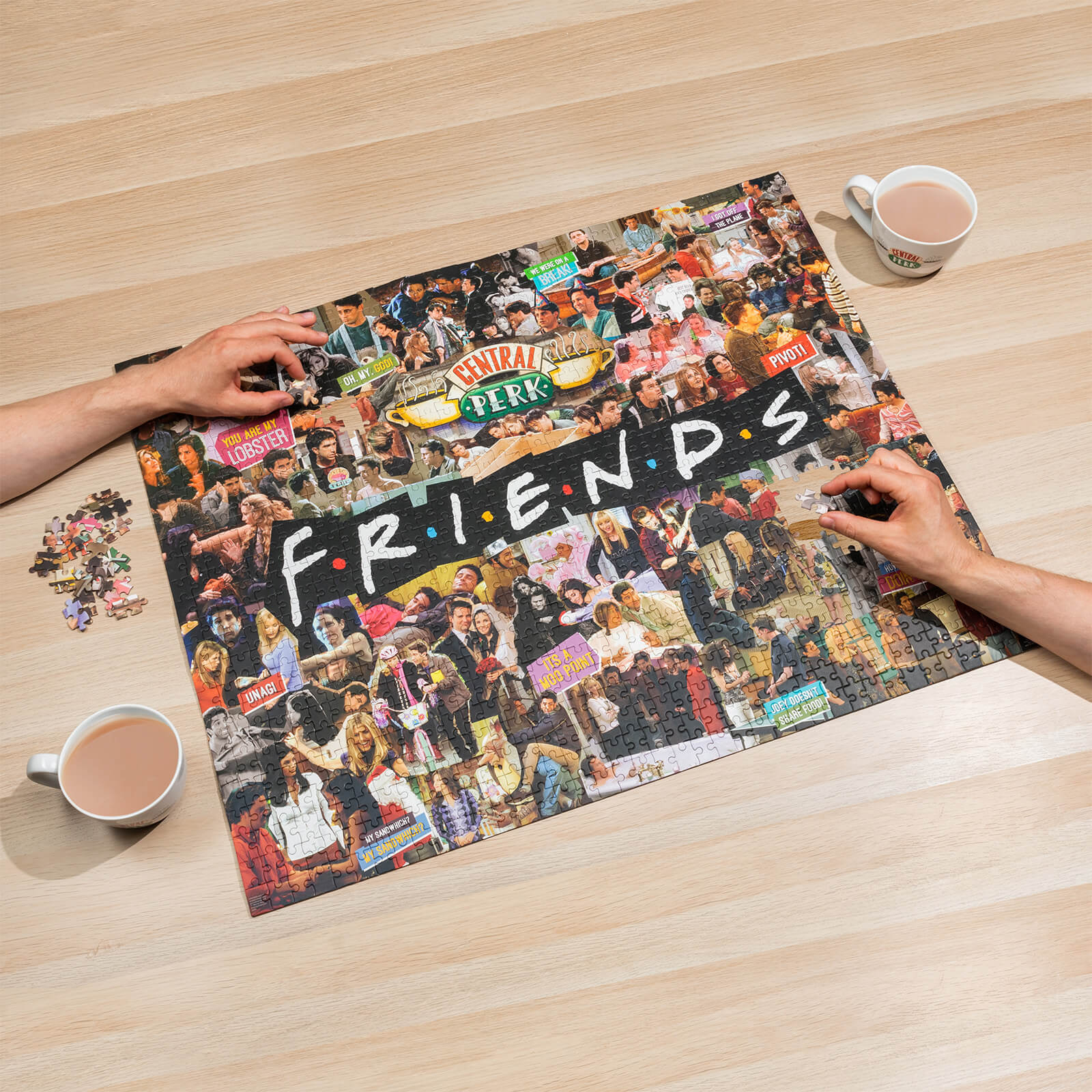 Image of Friends Jigsaw Puzzle