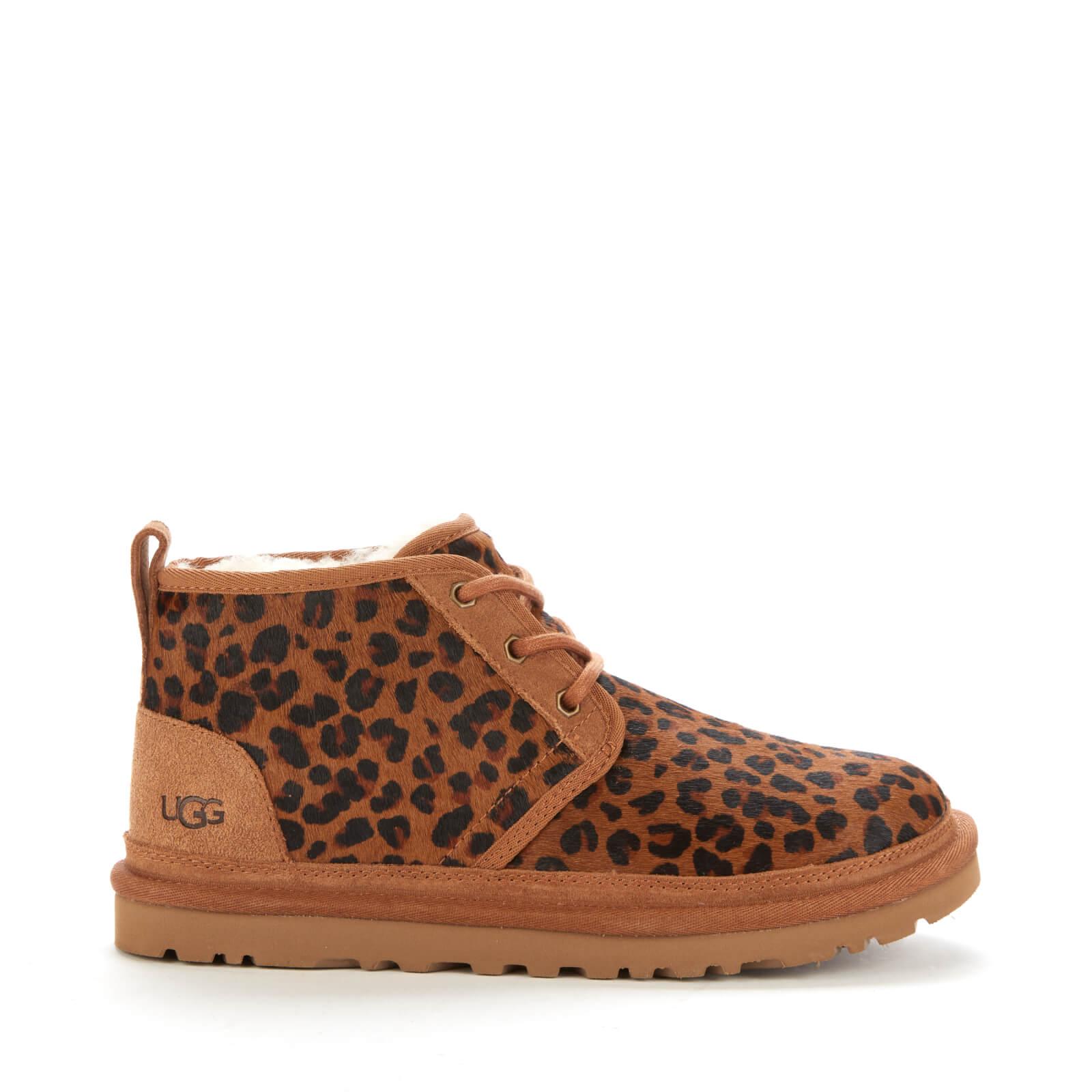 Ugg Women's Neumel Leopard Boots - Natural - Uk 3