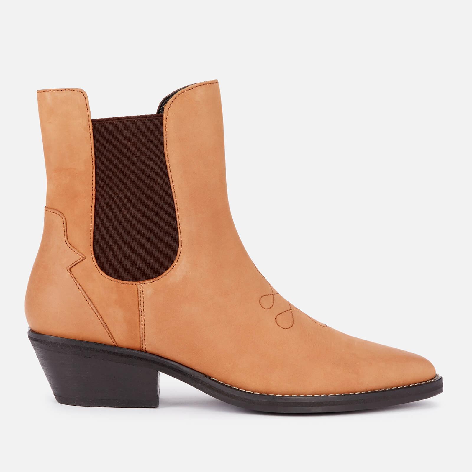 Superdry Women's Western Boots - Tan - Uk 8